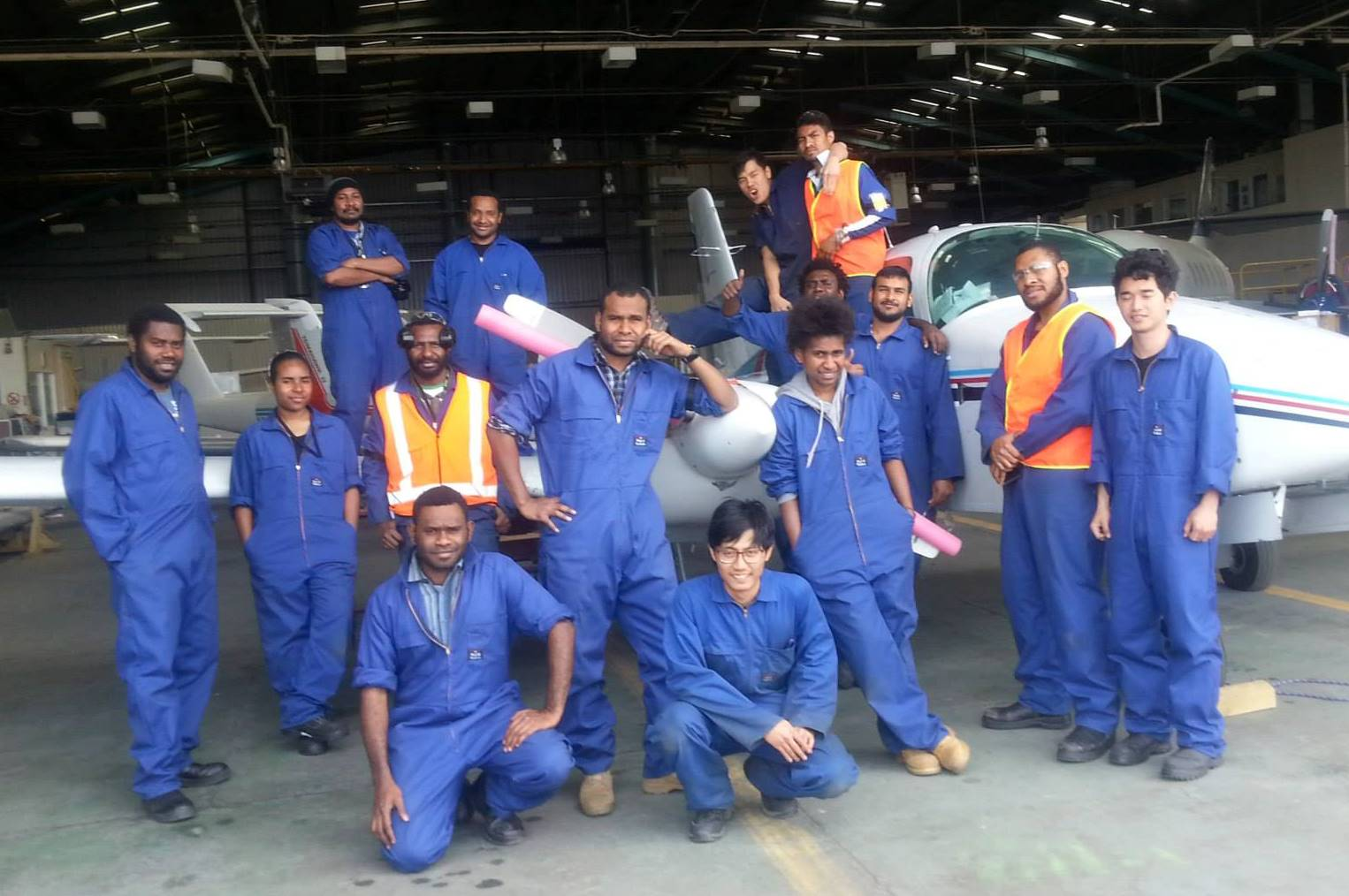 Cadet engineers start training with Hawker Pacific