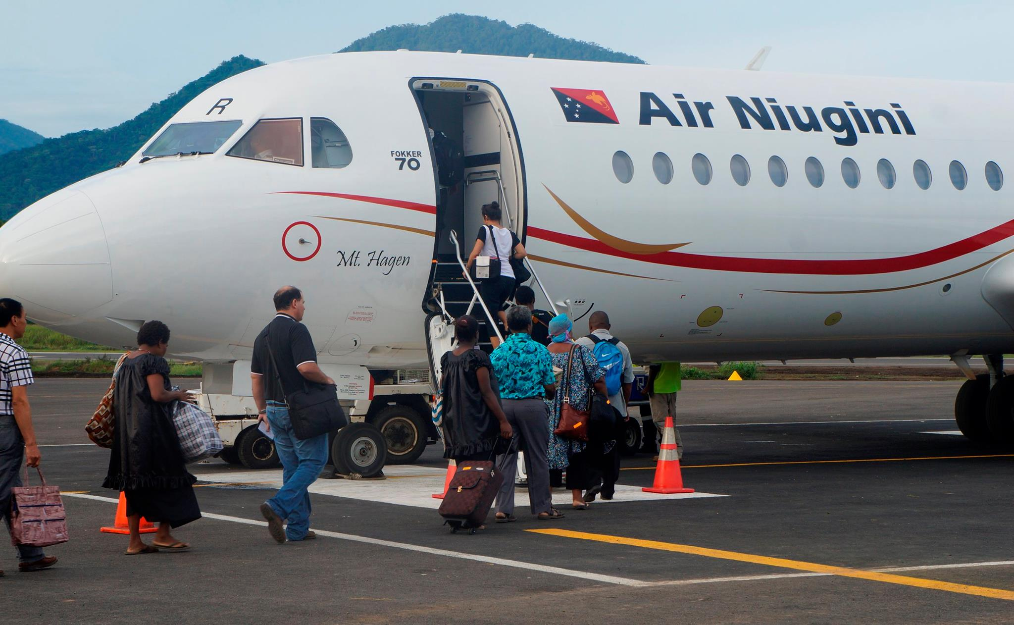 Air Niugini returning to normal operations