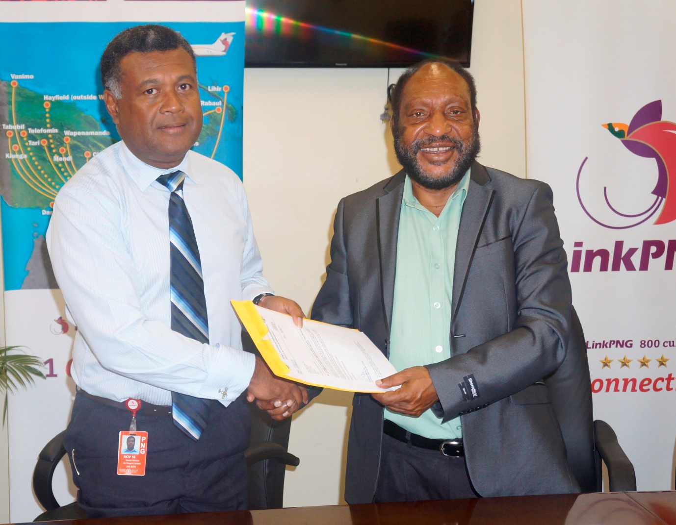 Link PNG Recieves First Quarter Airfare Subsidy From Enga Provincial Government