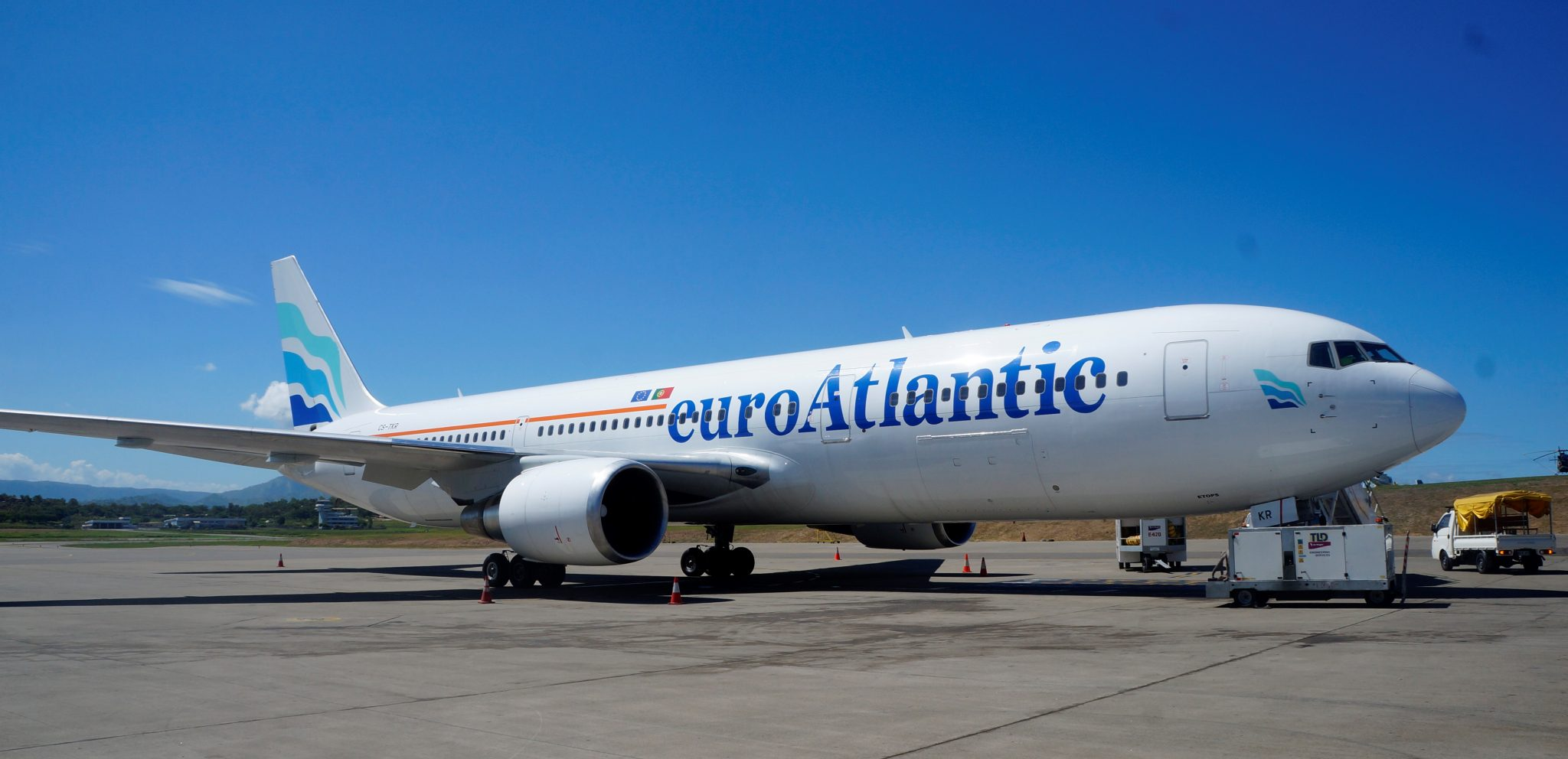 Air Niugini leases a B767 from Euroatlantic Airways