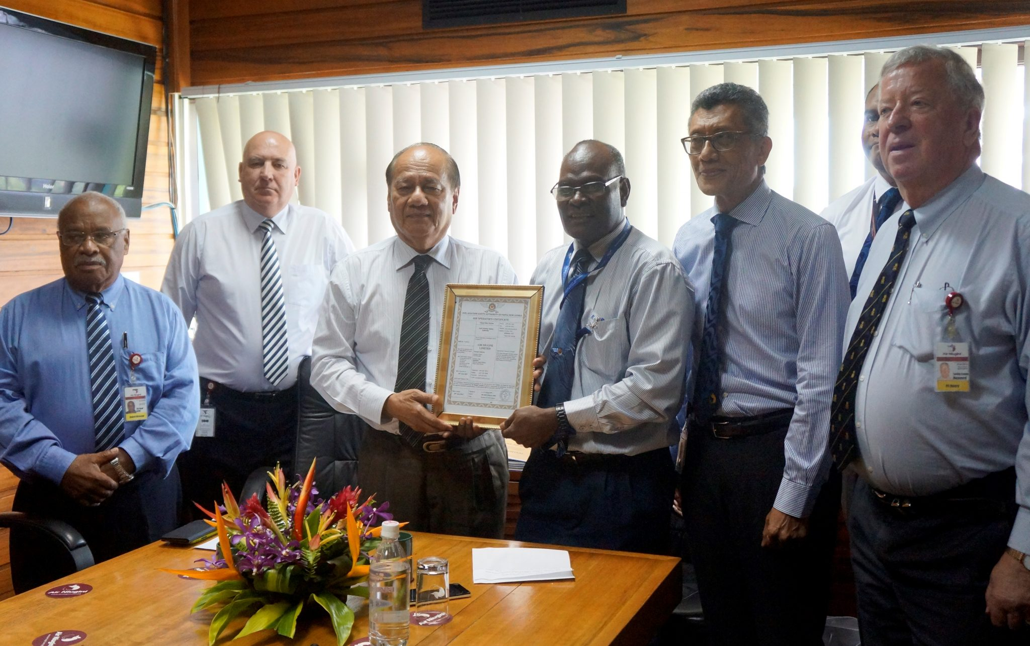 Air Niugini receives Air Operator's Certificate (AOC)