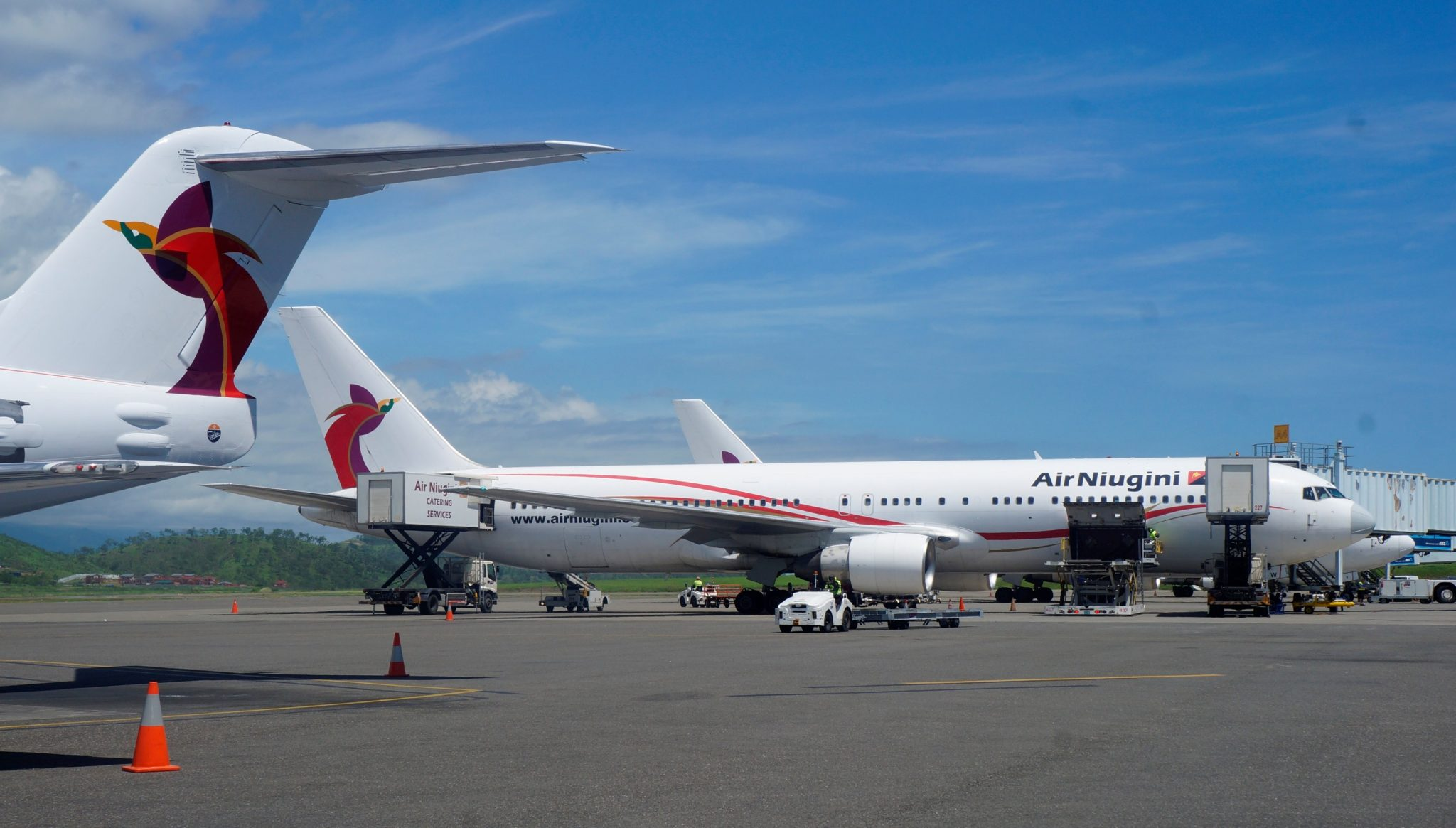 Temporary cancellation of Air Niugini services to Denpasar, Bali