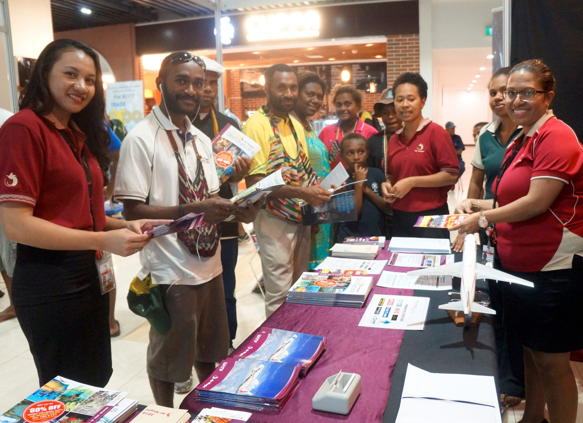 Air Niugini participates at first Vision City Trade Expo