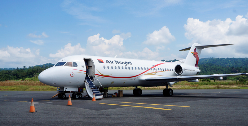 Air Niugini re-routes Wewak flights