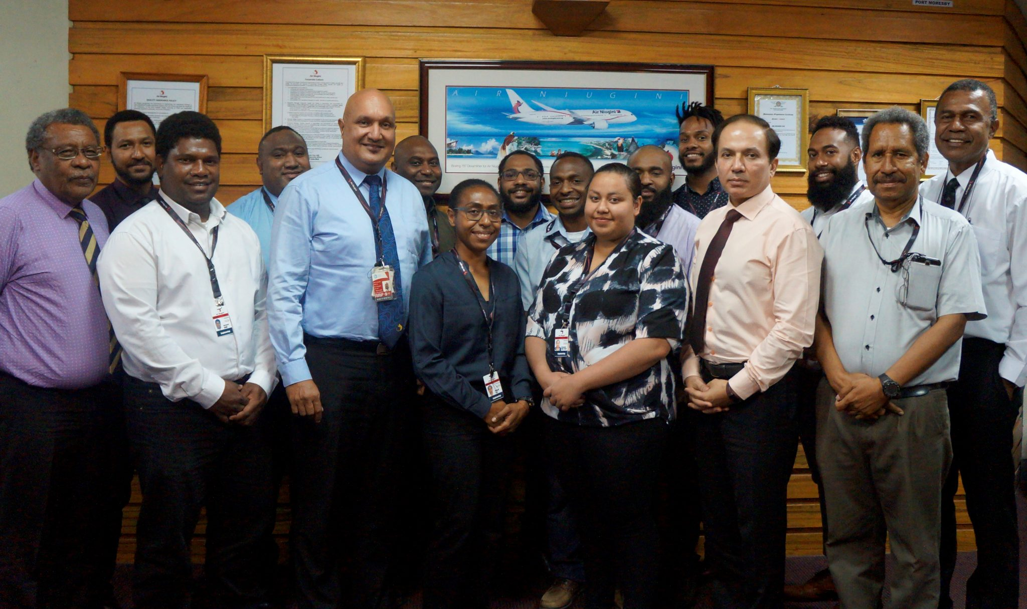 More Aircraft Maintenance Engineers (AMEs) return to Air Niugini.
