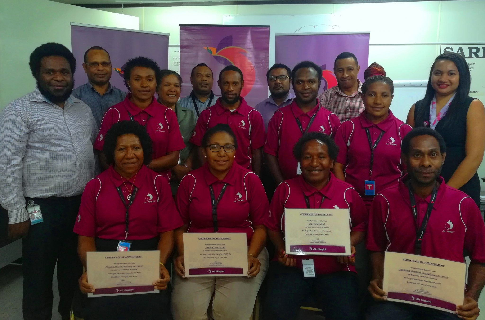 Air Niugini Appoints Rural Sales Agents