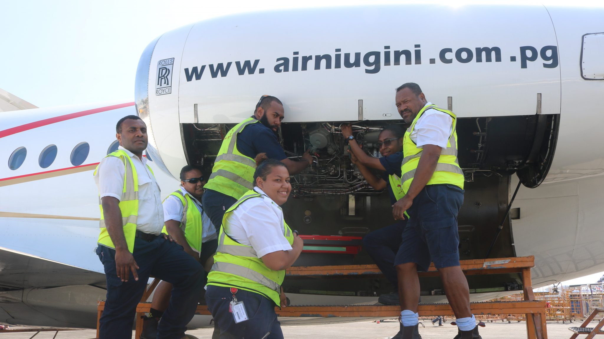 Air Niugini Commences In house Heavy Maintenance Checks On Jet Aircraft