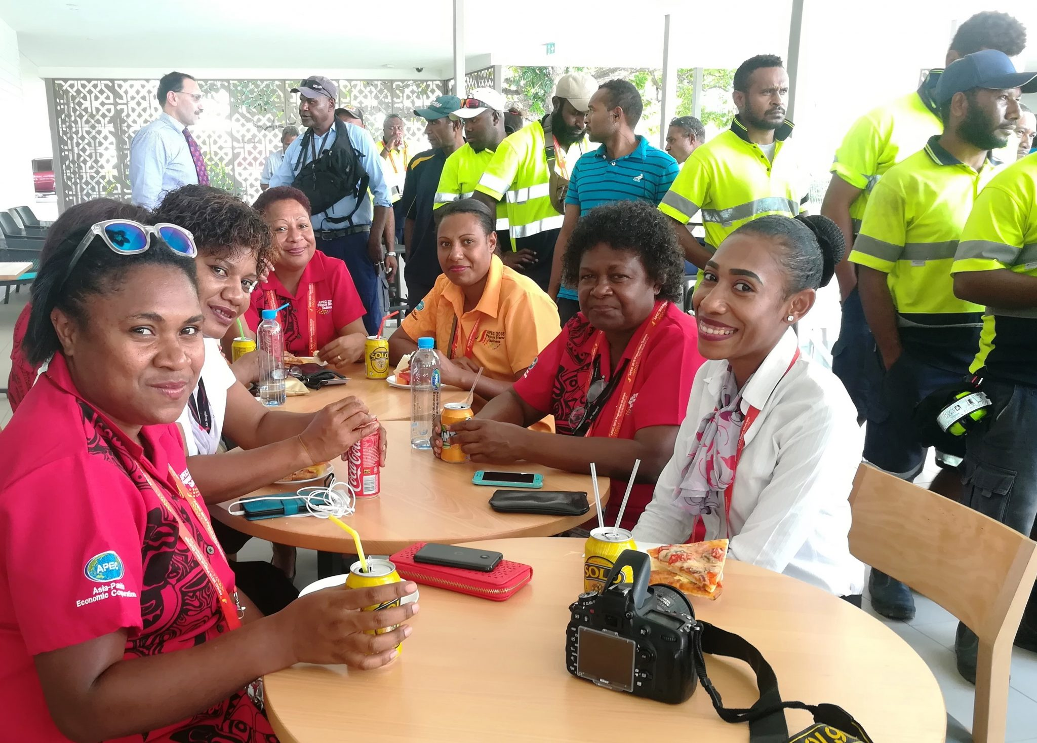Air Niugini commends staff for excellent Airport Handling during APEC