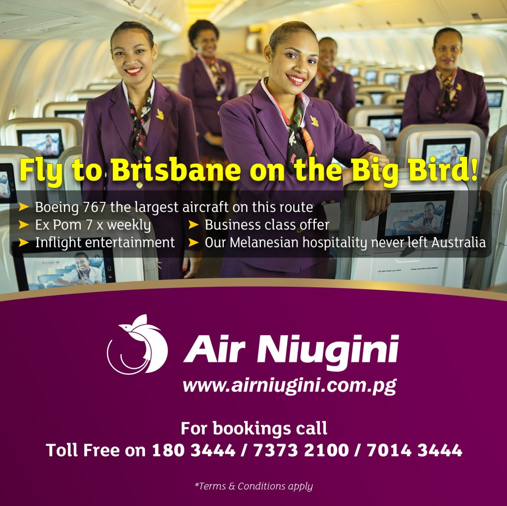 Fly to Brisbane on the Big Bird