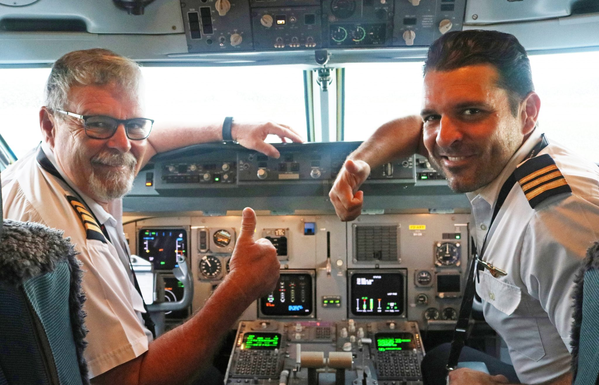 Air Niugini's Father And Son Pilots Flying Together For The First Time