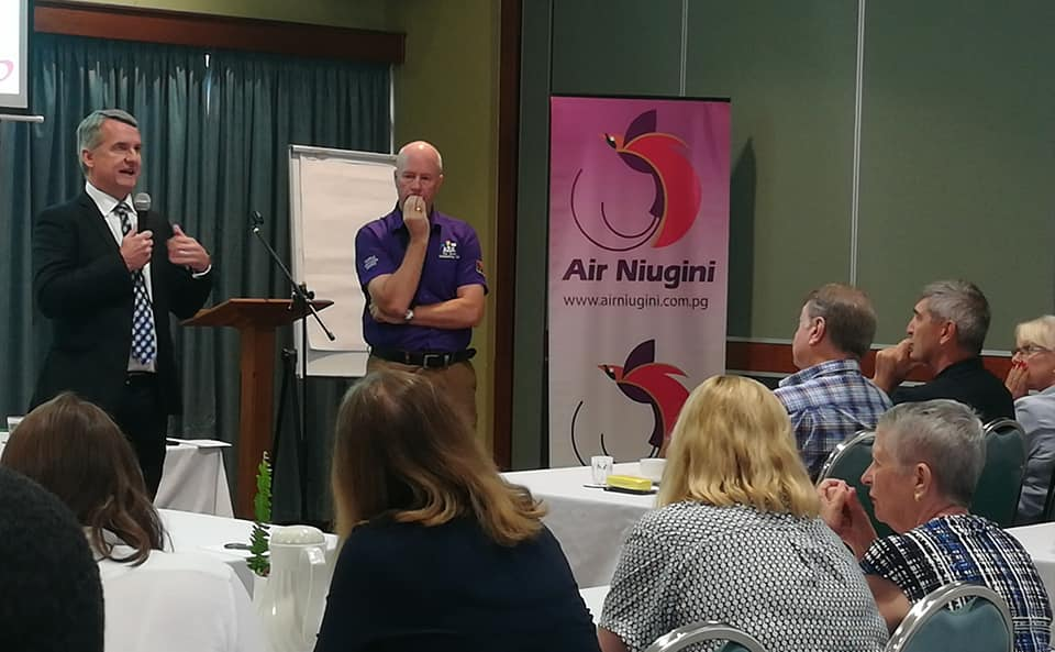 Air Niugini and Lae Chamber of Commerce Information Gathering