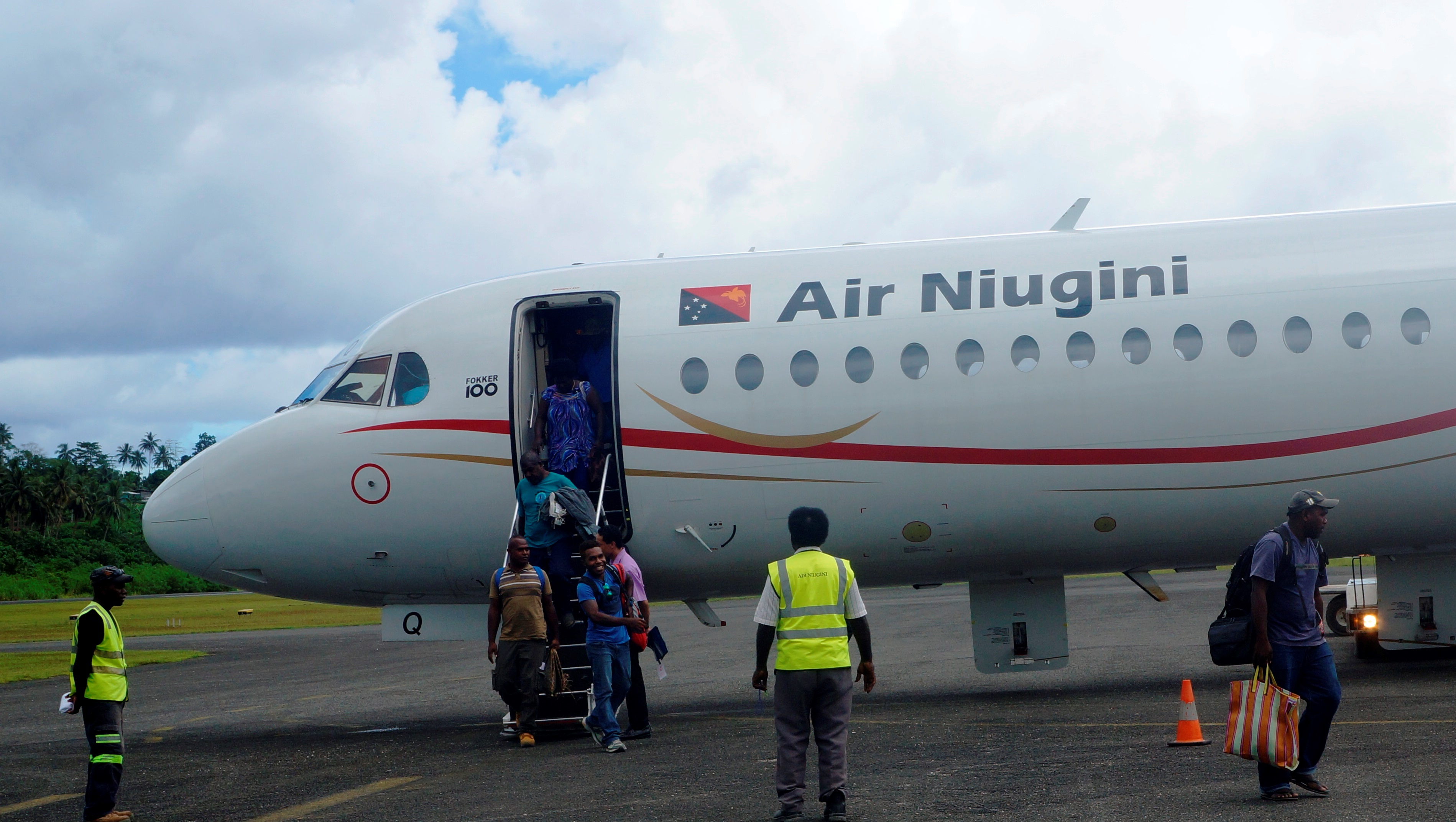 Air Niugini Resumes Jet Operations To Aropa Airport