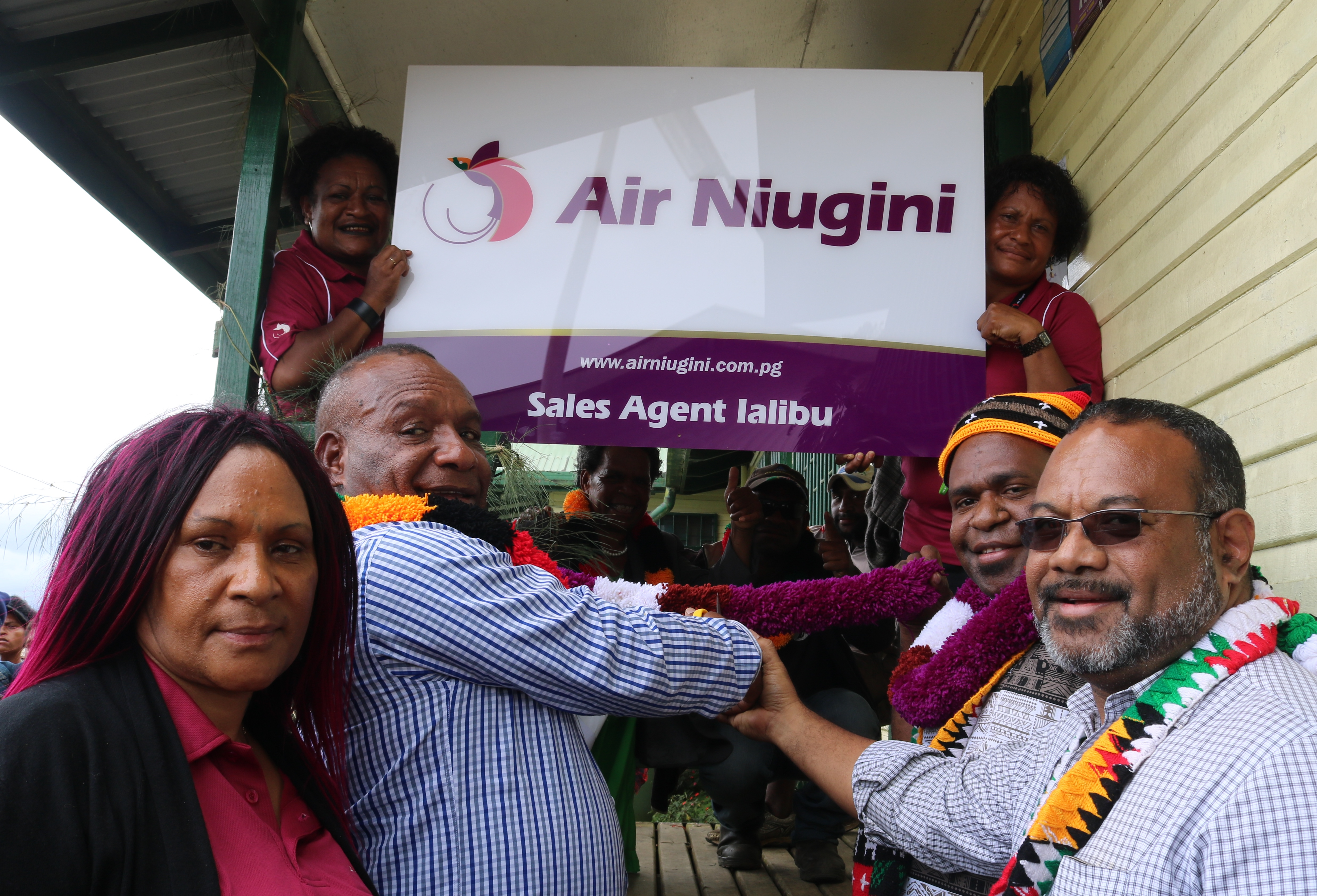 Air Niugini Launches A Rural Sales Agent In Ialibu