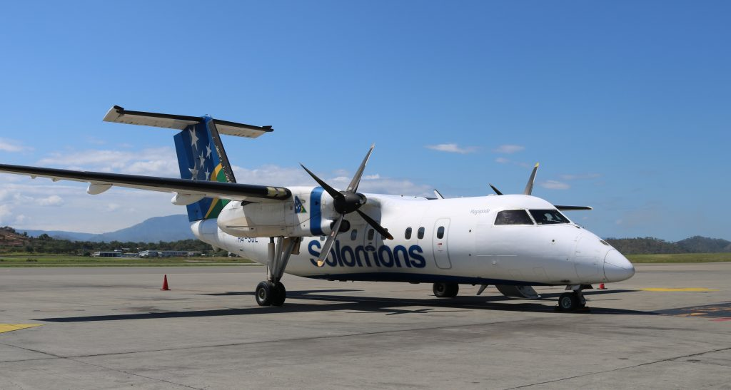 Air Niugini extends in-house Heavy Maintenance checks to Solomon Airlines