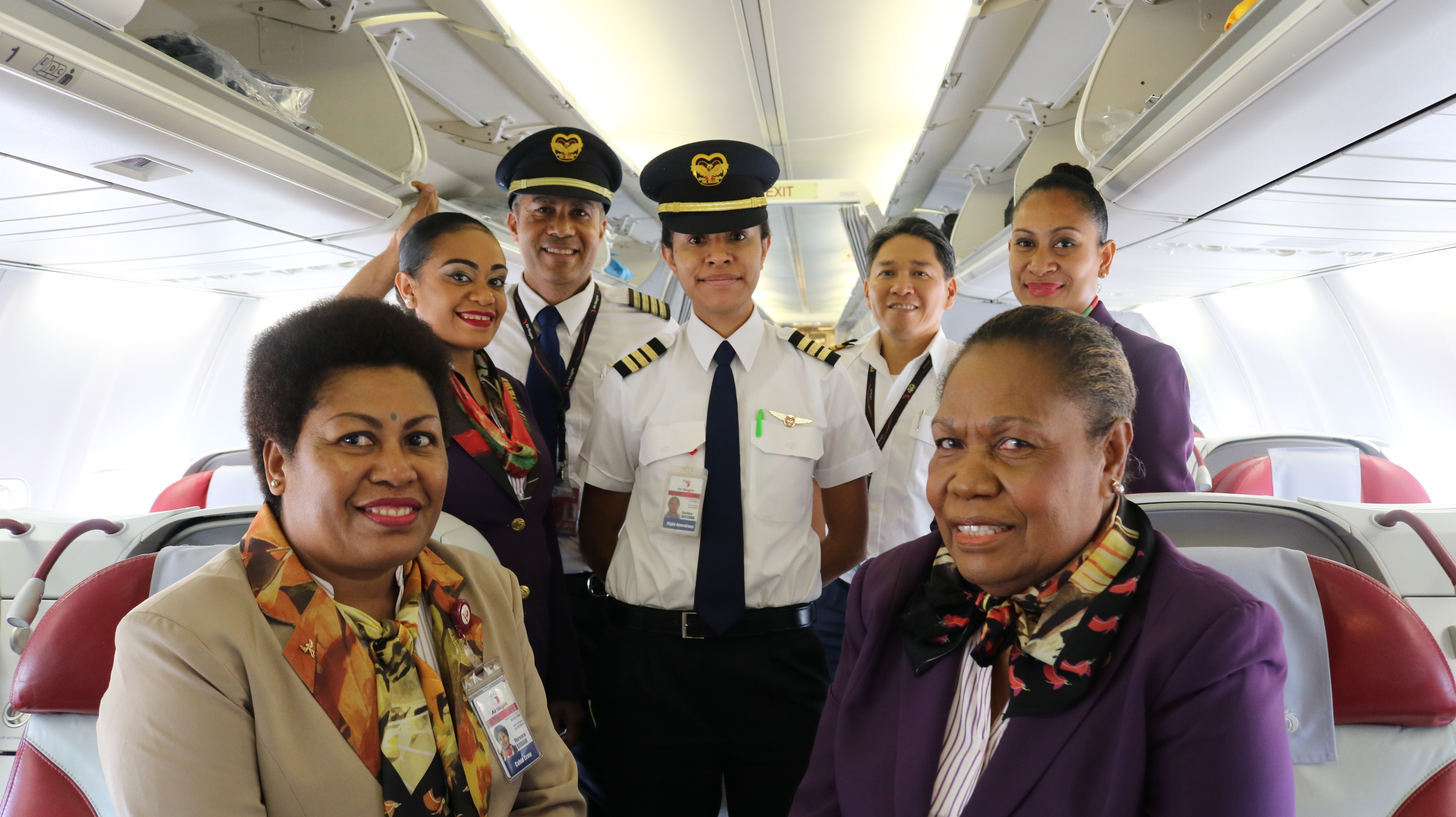 Commencement Of Non-Stop Port Moresby-Nadi Service