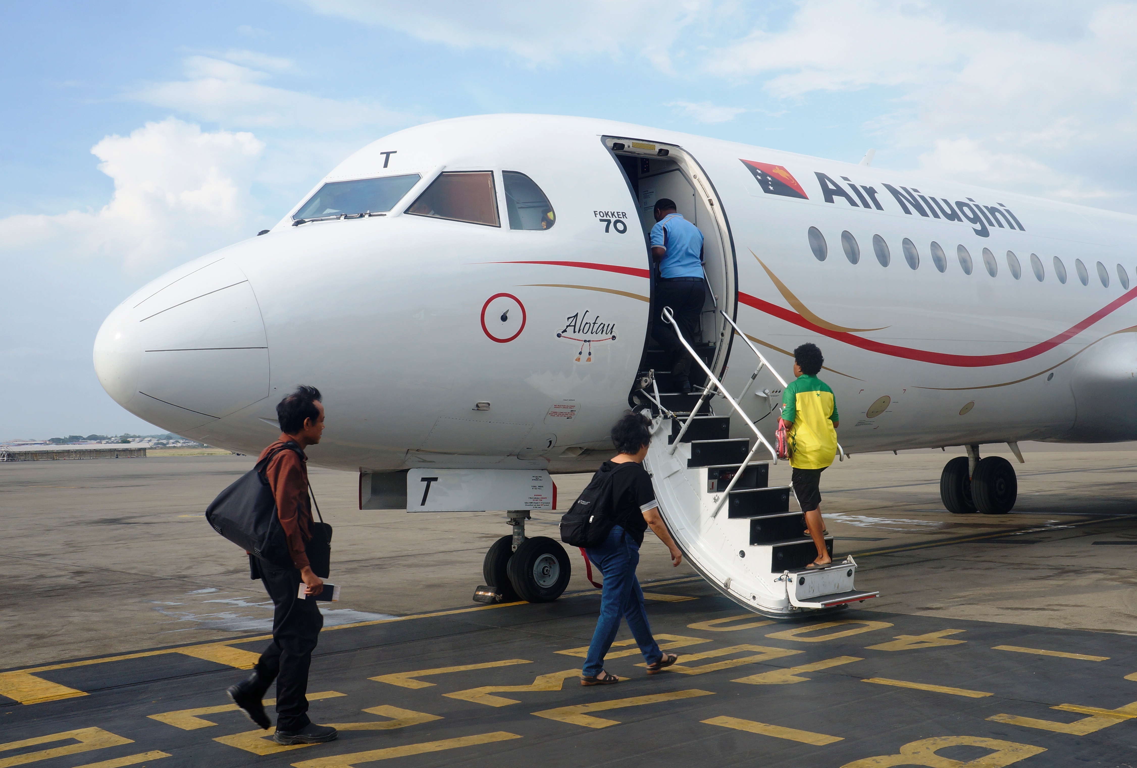 Air Niugini Increases Domestic Services