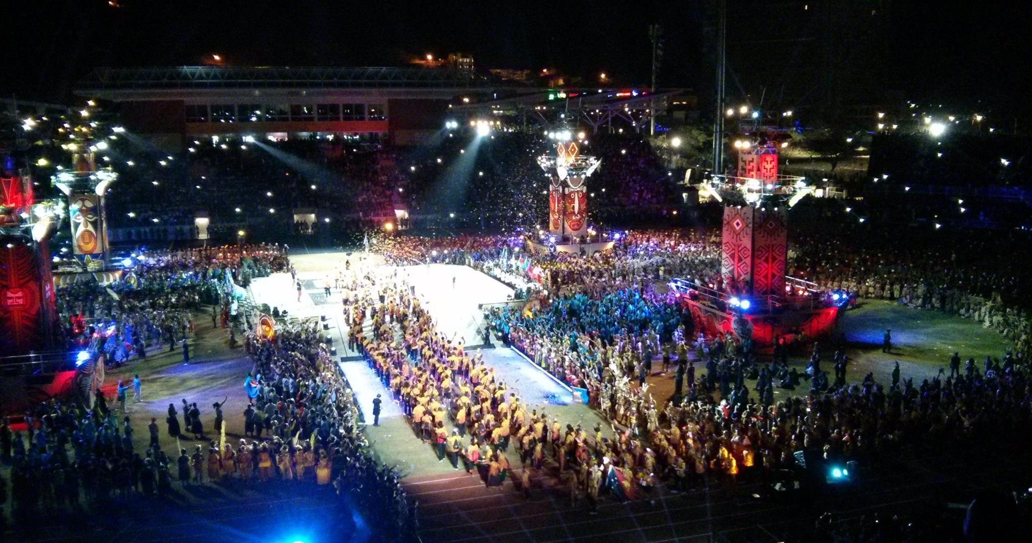 Pacific Games 2015 is underway