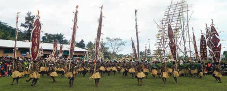 Dance Of The Kumul by Grace Maribu