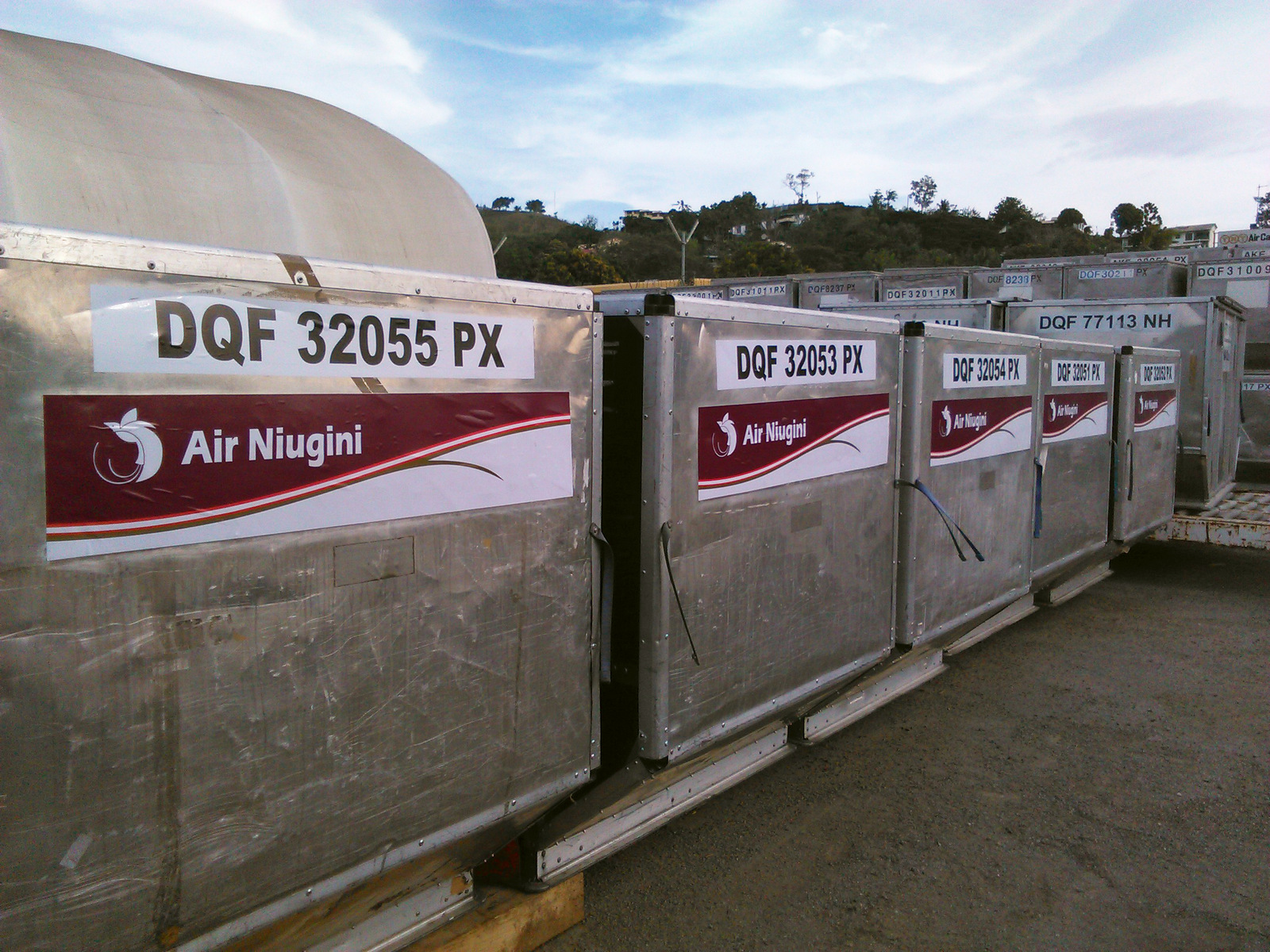 Additional ULD Containers To Ease PX Cargo Unit Loading Problems