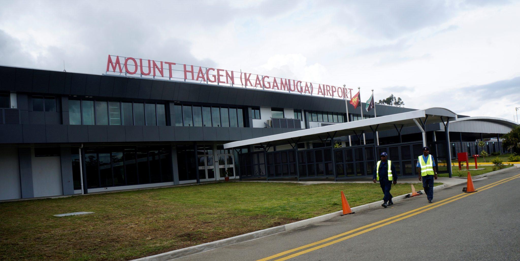 Opening of Kagamuga International Airport on Thursday 26th November 2015
