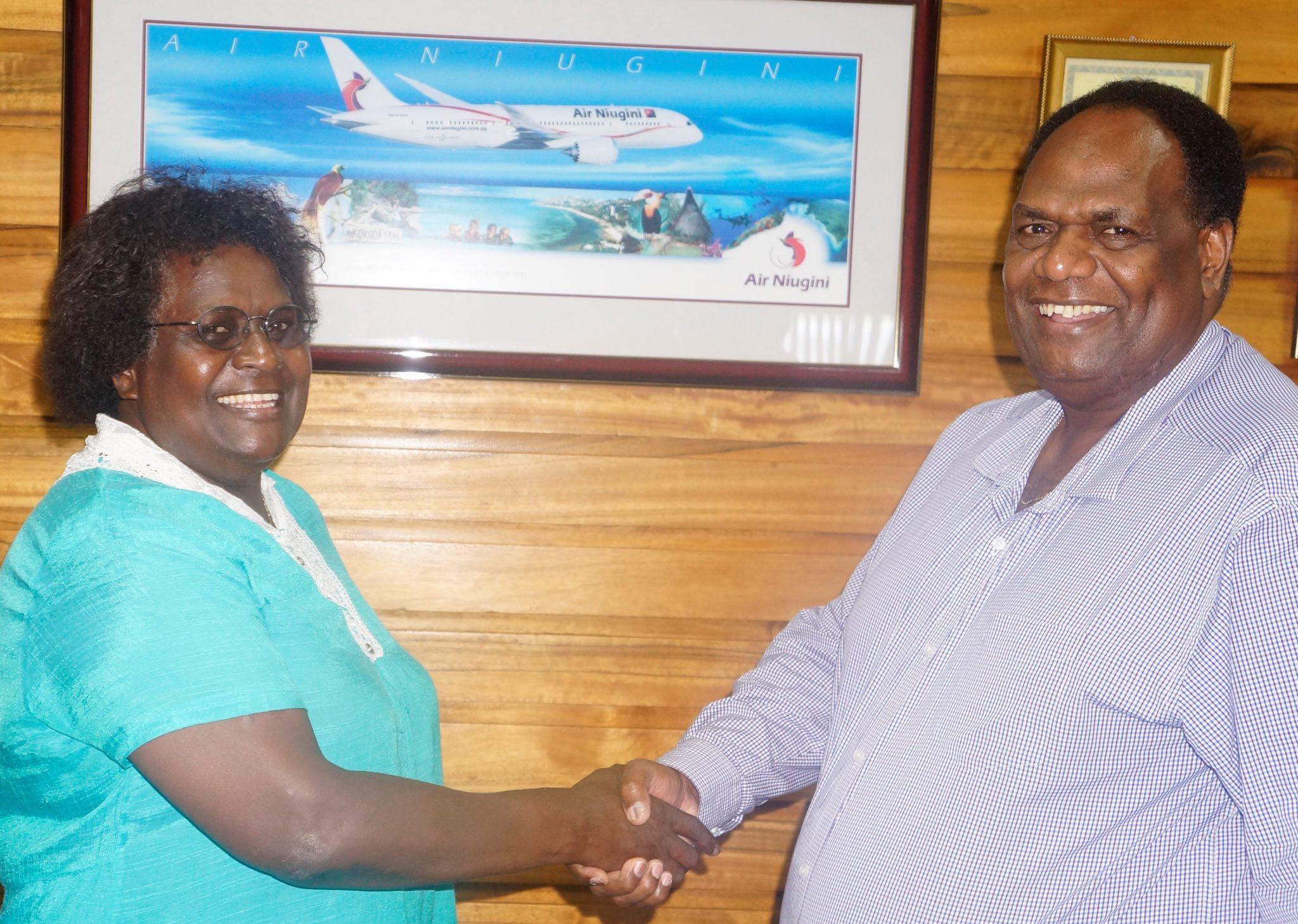 Kilo appointed to head Air Niugini Honiara Office