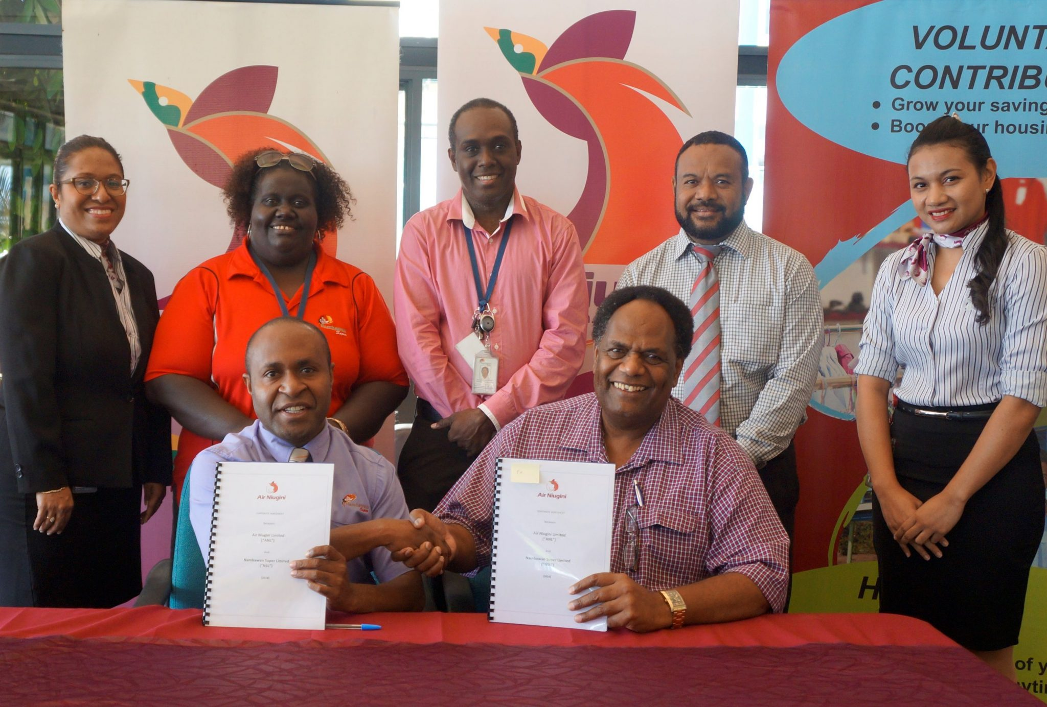 Air Niugini and Nambawan Super sign agreement to enhance discount program for NSL members