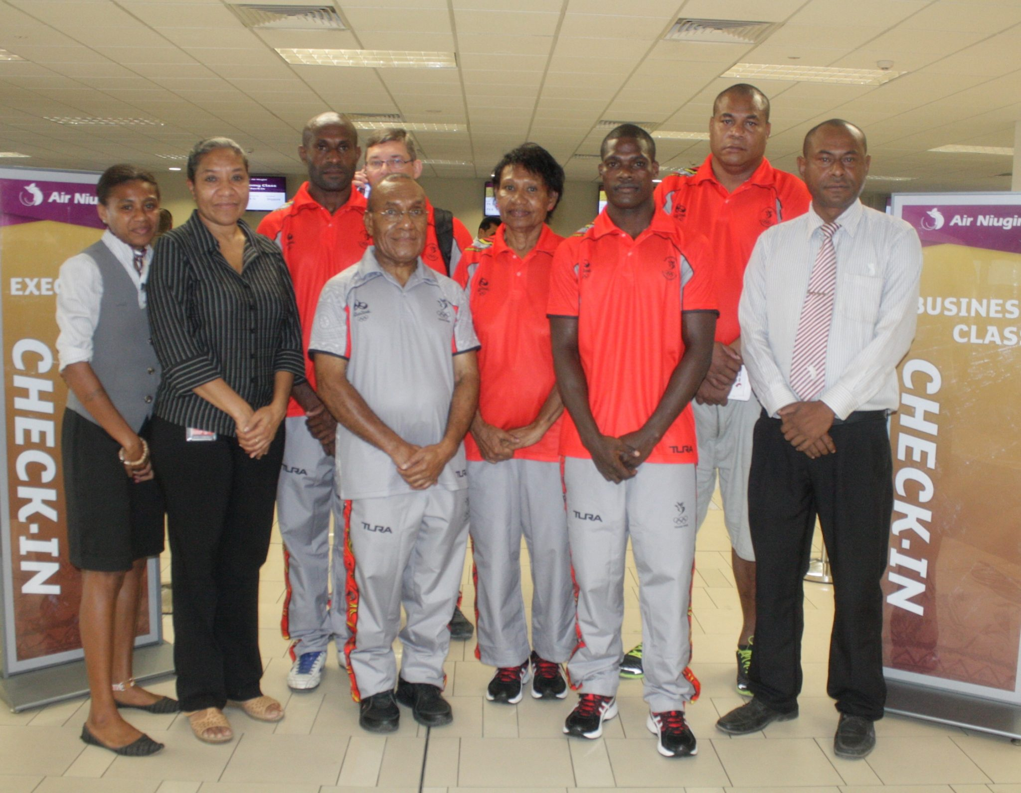 Air Niugini supports Team PNG to to Rio Games