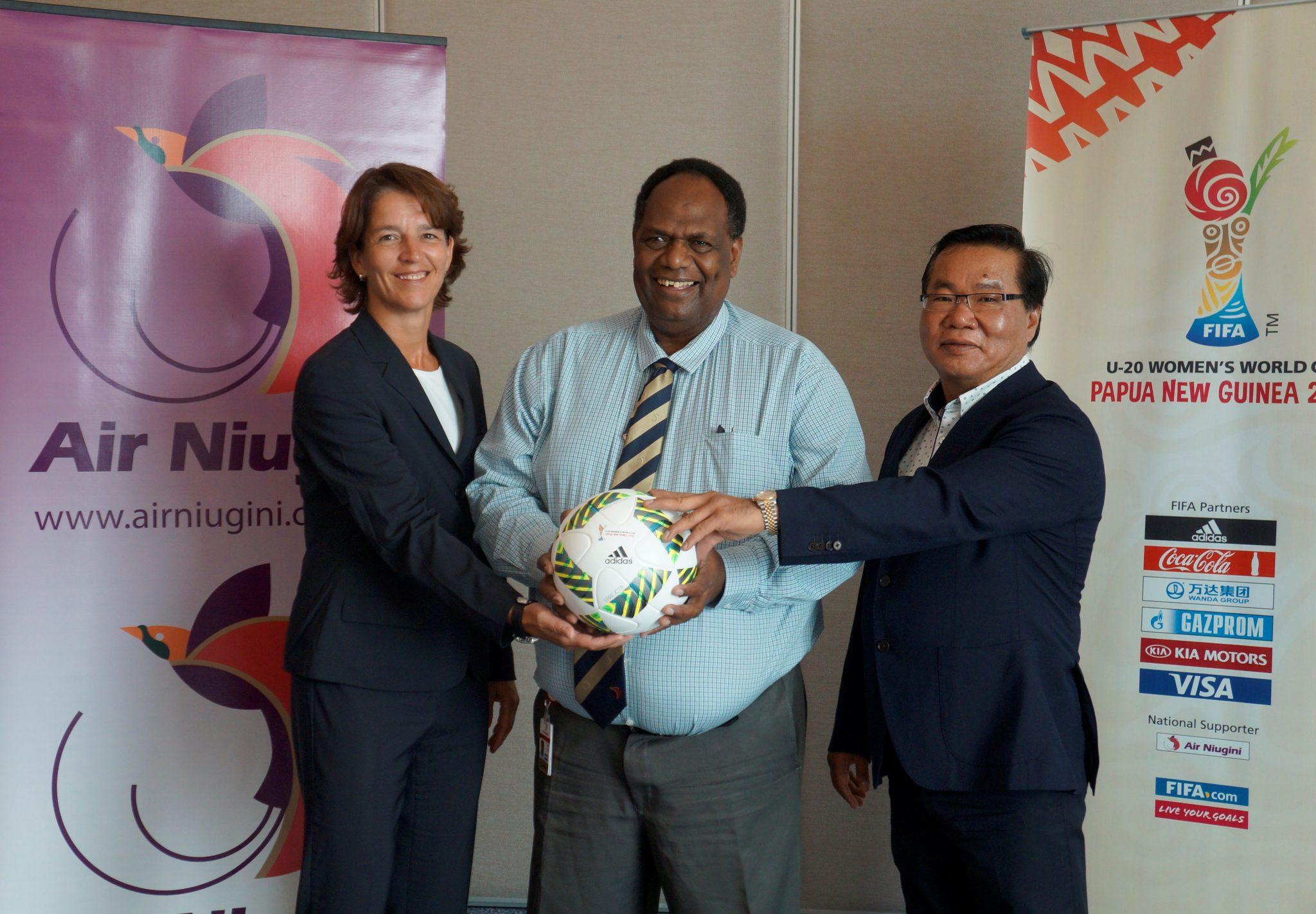 Air Niugini supports FIFA U-20 Women's World Cup, Papua New Guinea 2016
