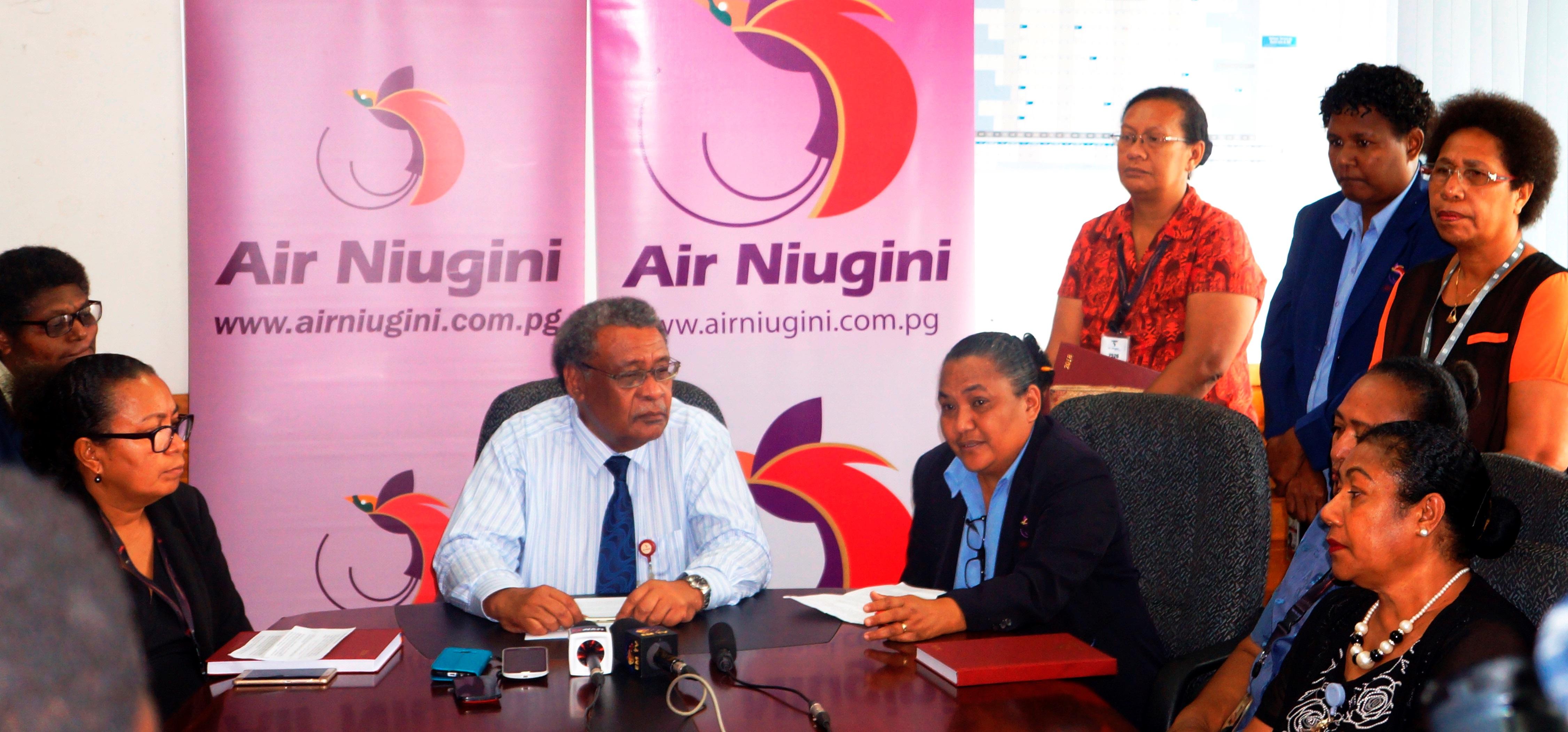 Air Niugini's Emerging Leaders Program proving a Success