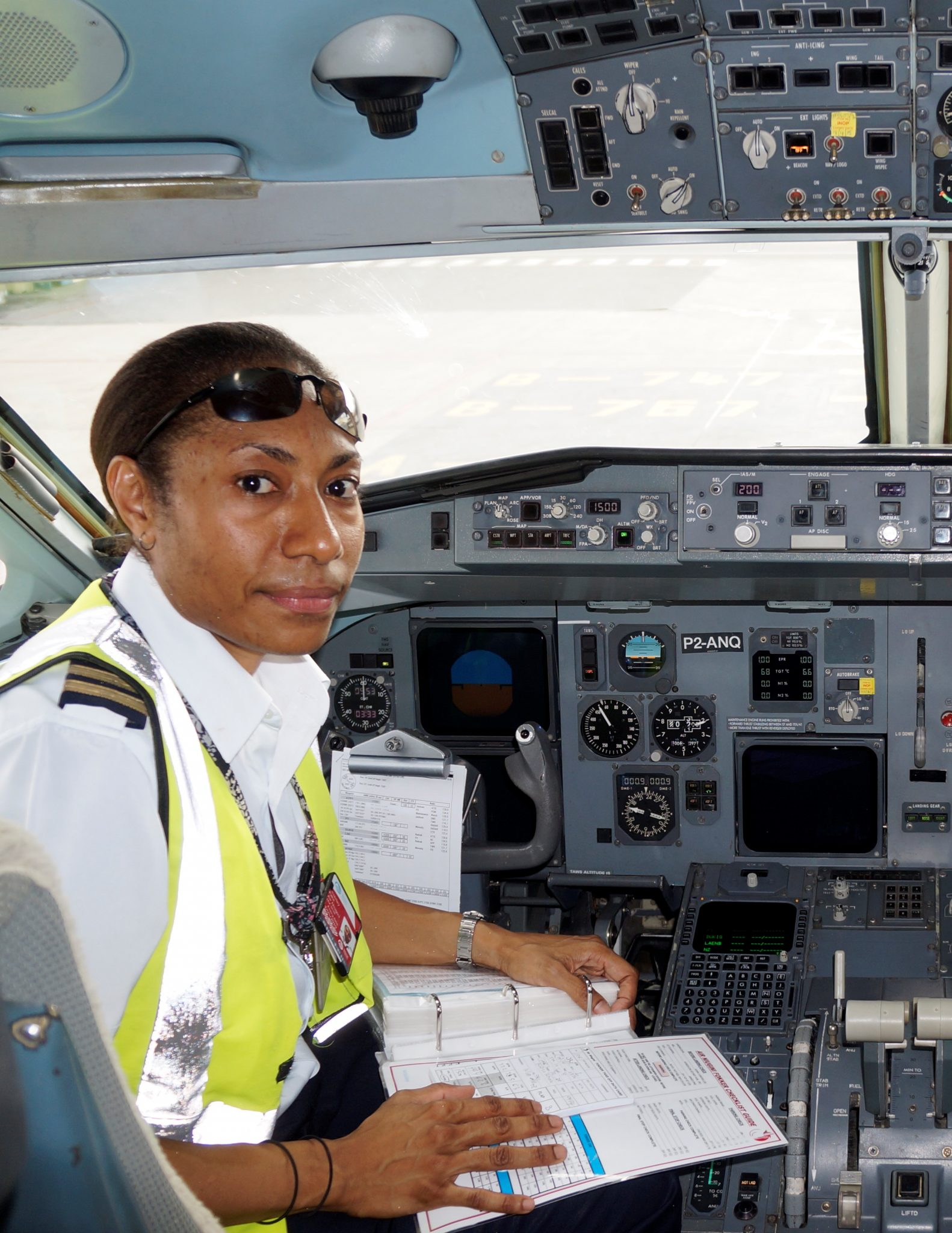 Captain Beverly Pakii attains Fokker command