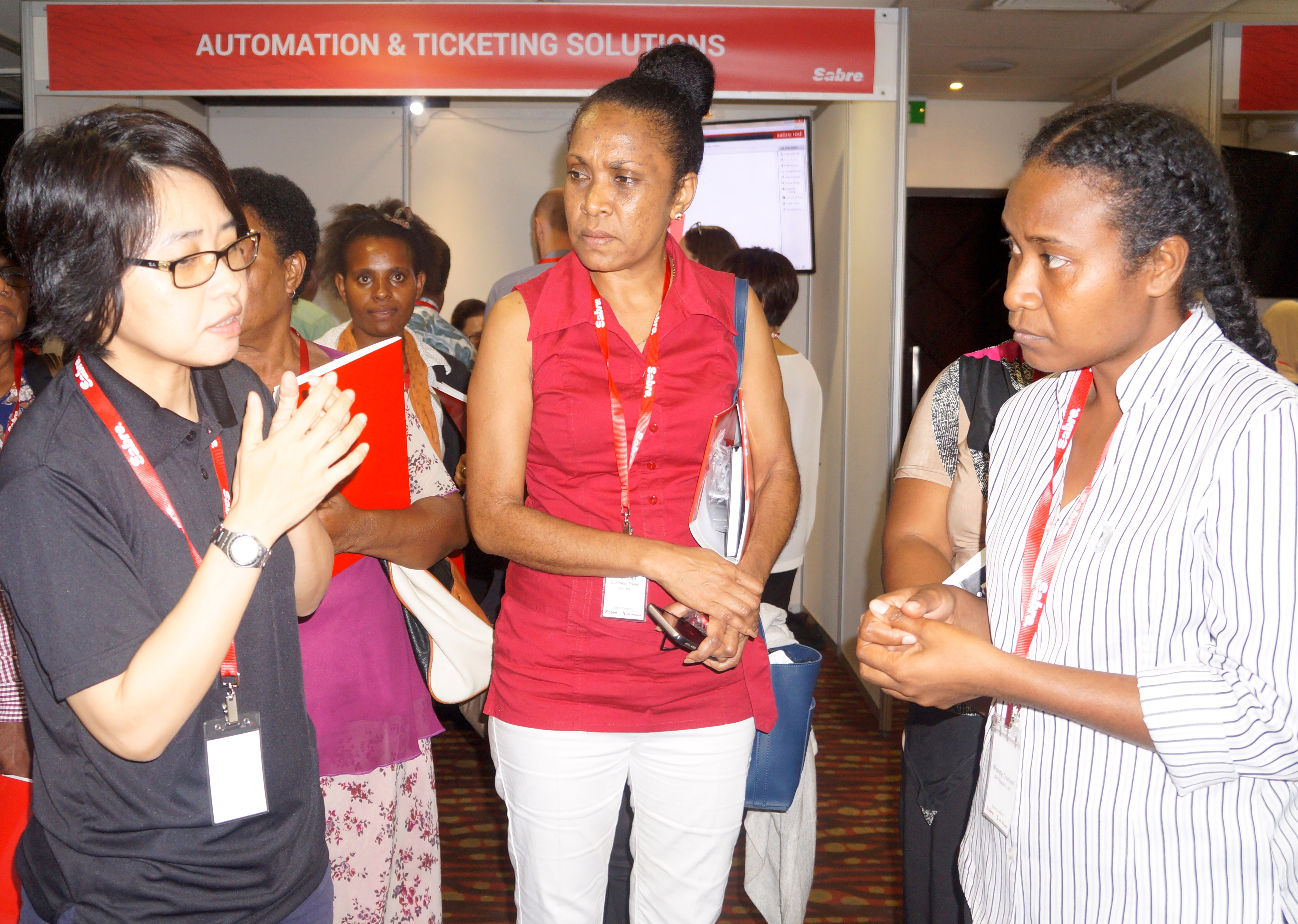 Air Niugini and Sabre co-hosted programme for Travel Agents