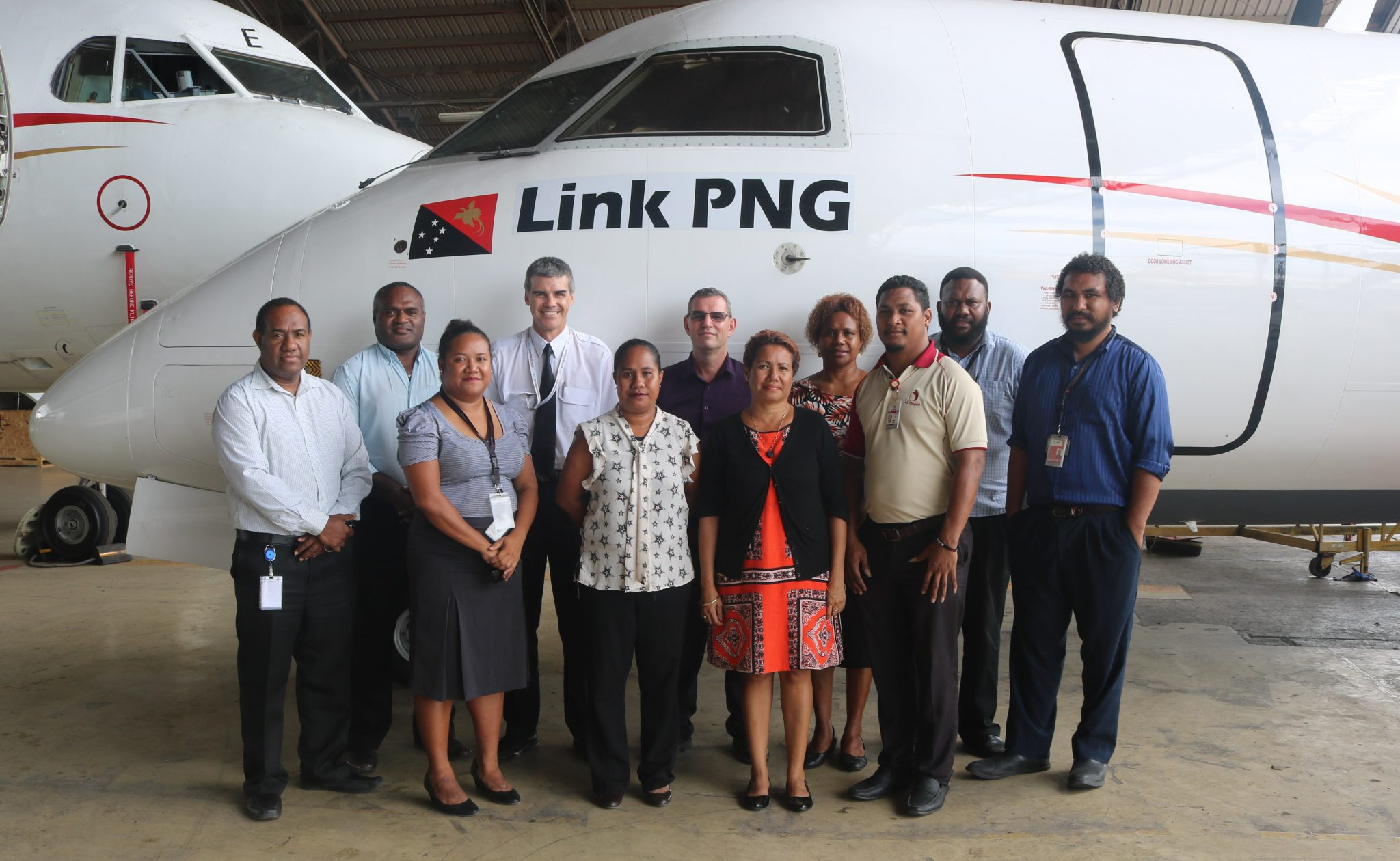 Link PNG Acquires and additional Dash 8