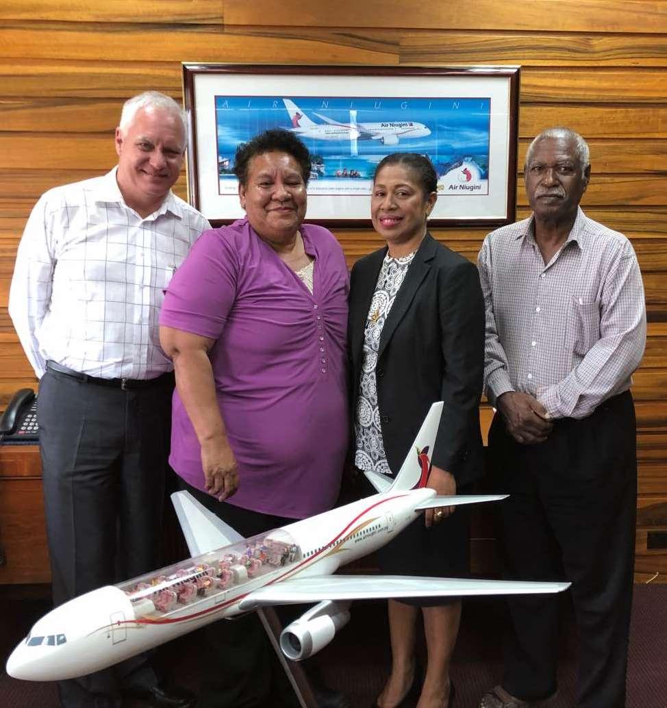 Air Niugini Congratulates Staff