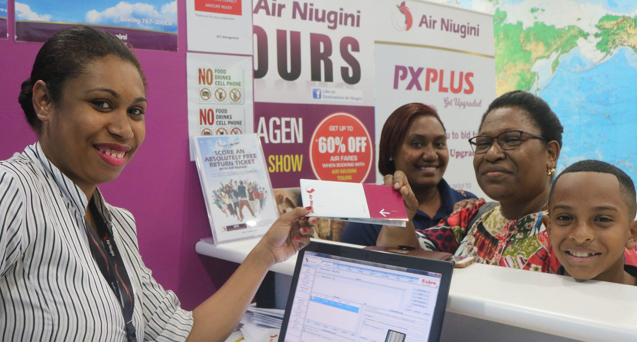 How To Get Free Tickets From Air Niugini