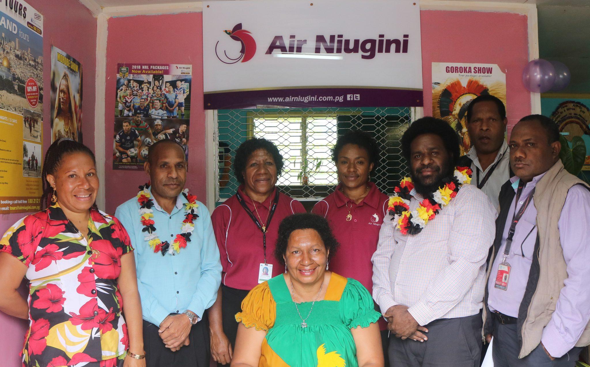 Air Niugini Opens Rural Sales Agent In Kudjip