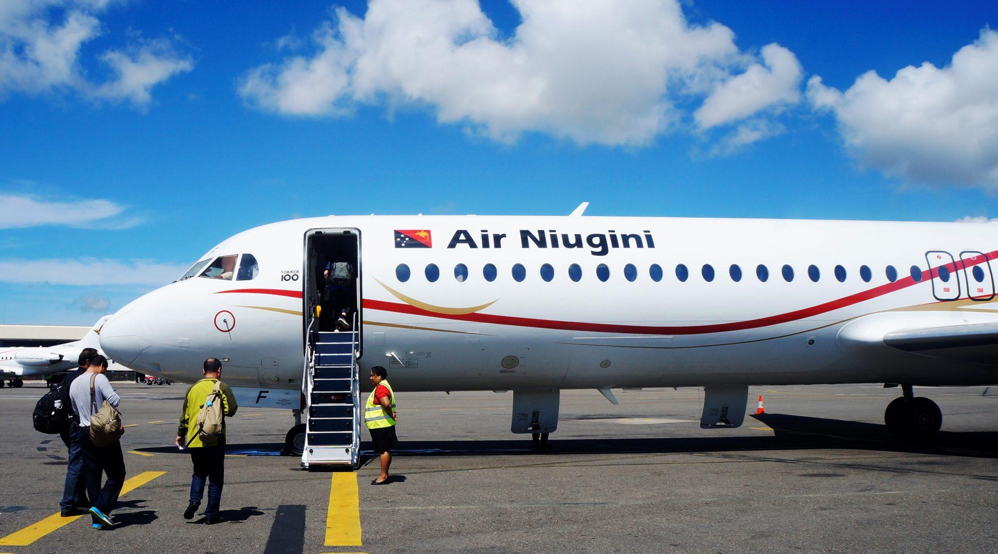 Air Niugini Resumes Jet Operations To Kieta