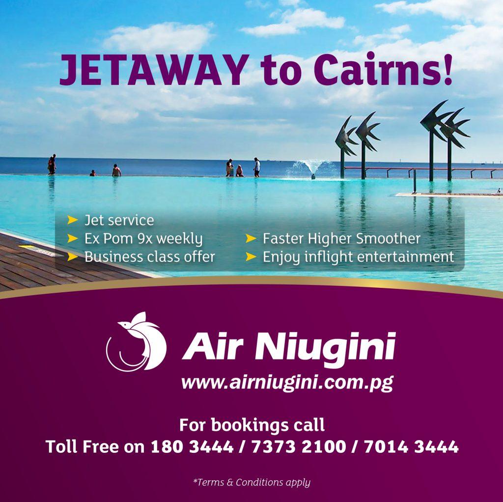 Jetaway to Cairns!