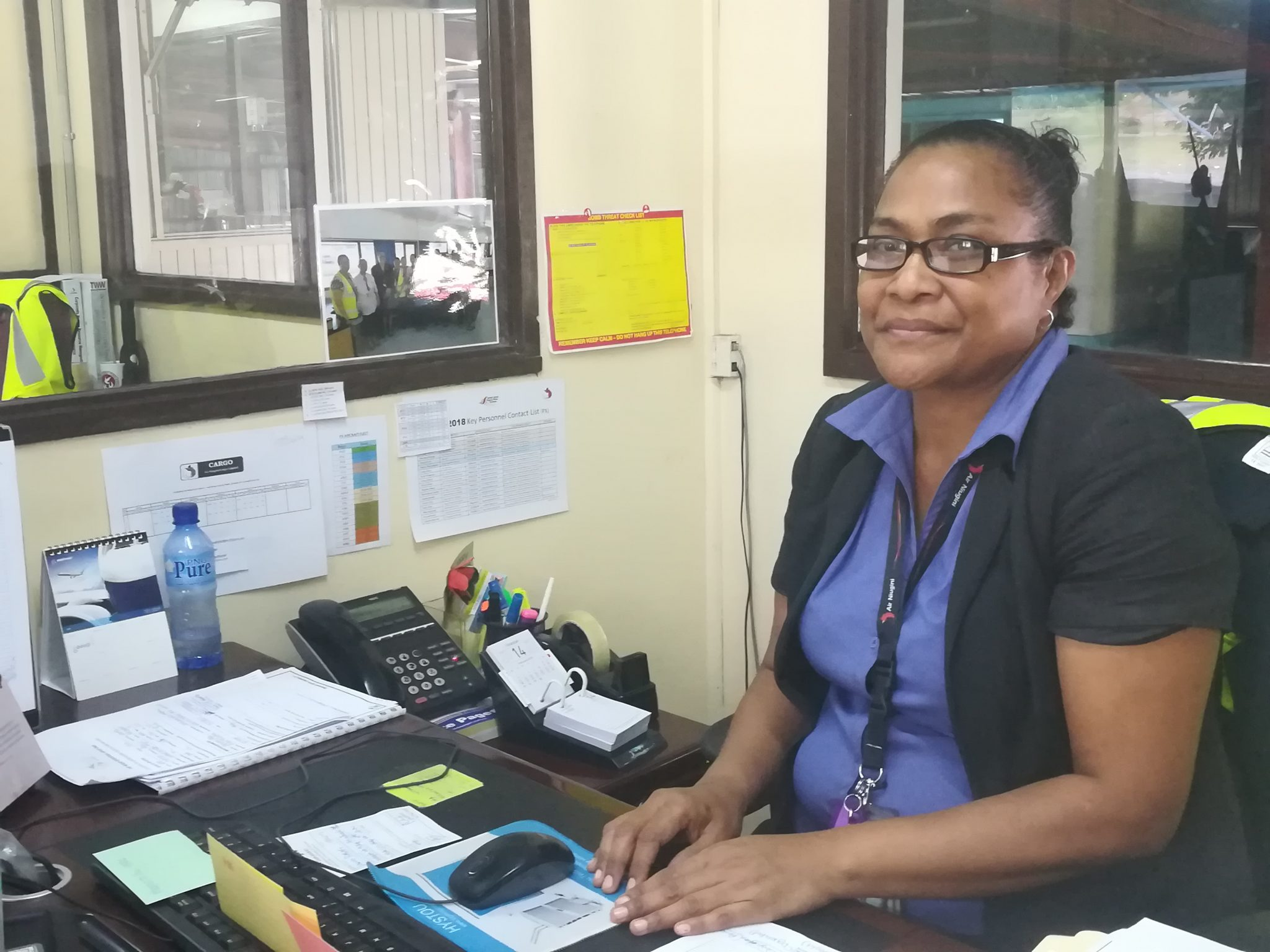Air Niugini Appoints a First In New Executive Manager For Cargo