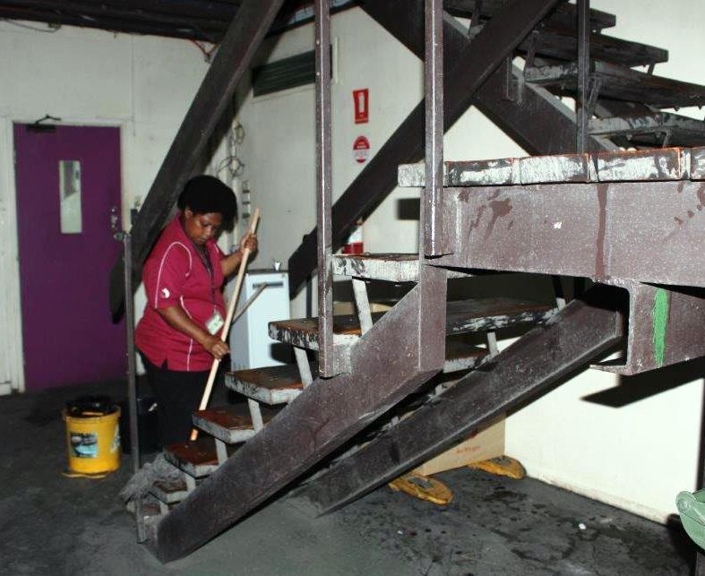 Air Niugini Office Clean-A-Thon