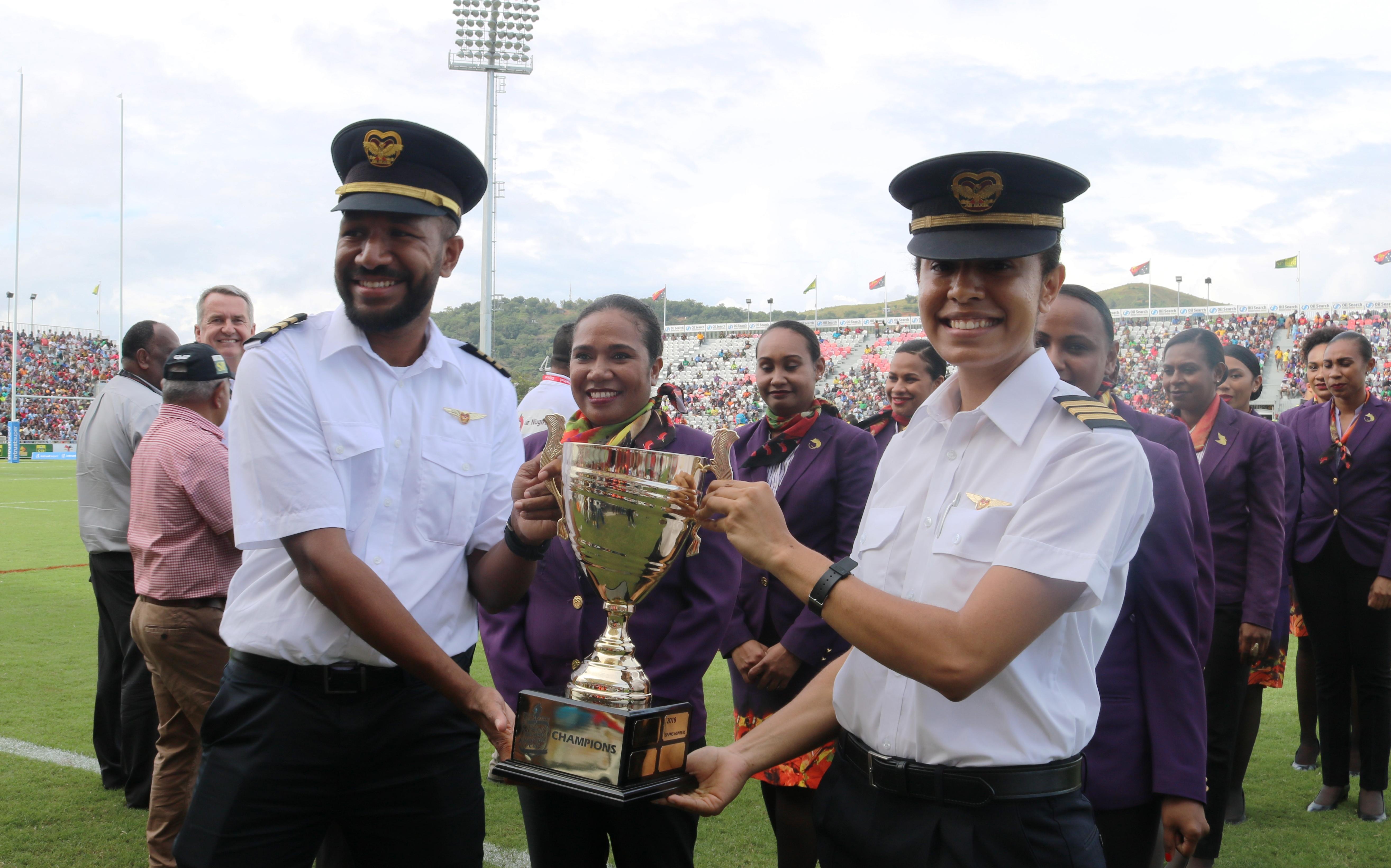Air Niugini Succesfully Hosts 3rd  Annual Kokoda Cup