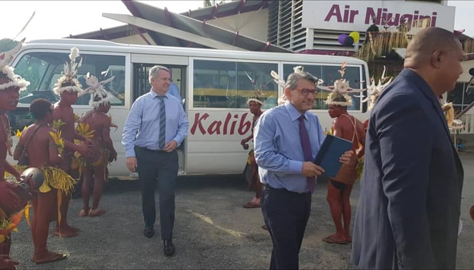 Chairmans Visit To Madang Sales Office