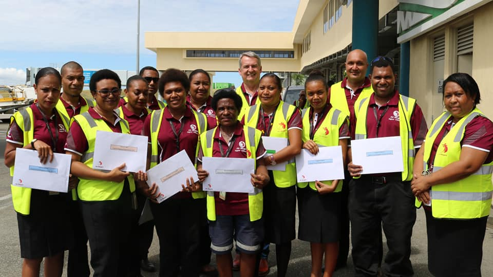 Ground Operations Staff Commended