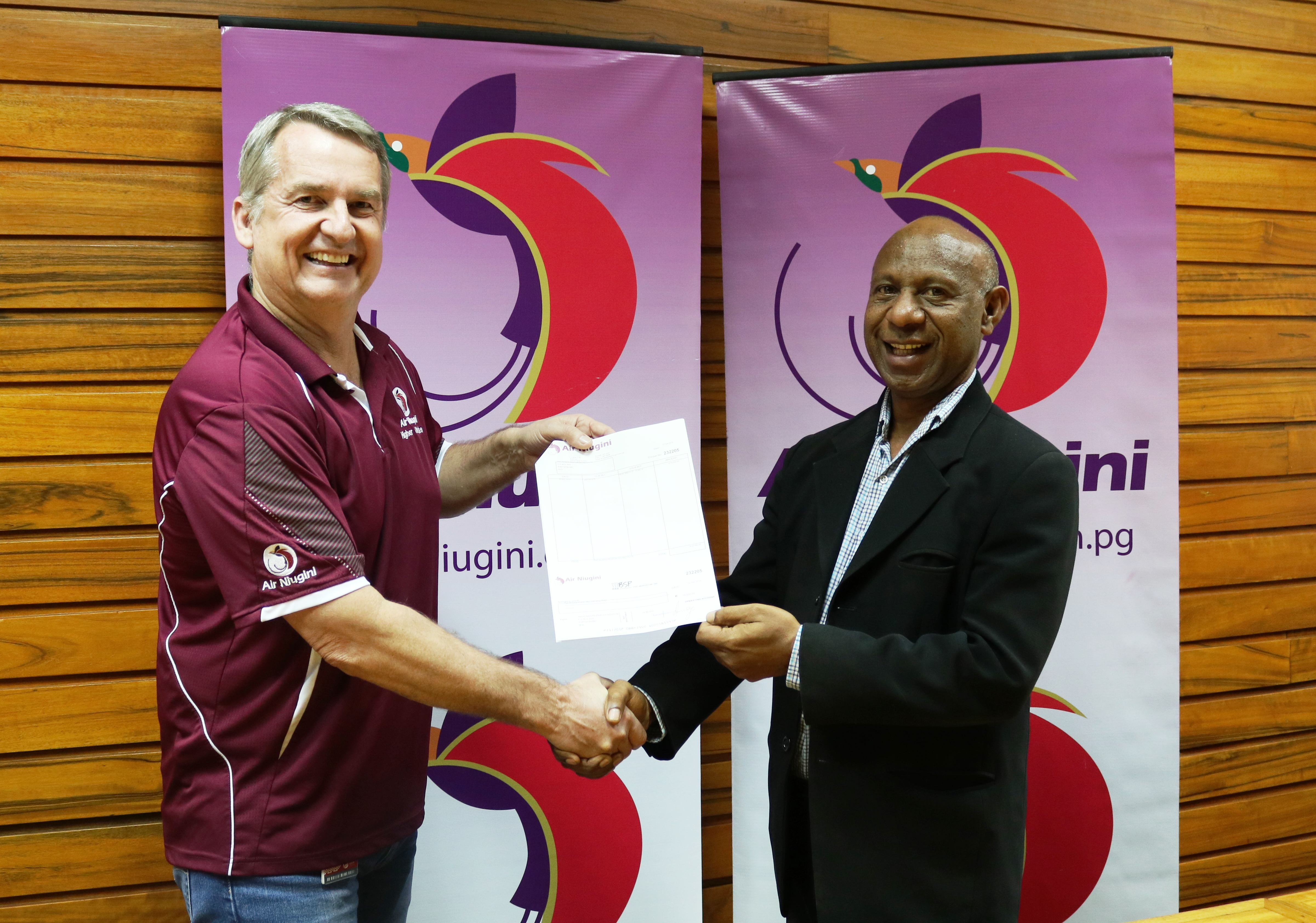 Air Niugini Continues To Show Support To PNG Human Resource Institute (PNGHRI)
