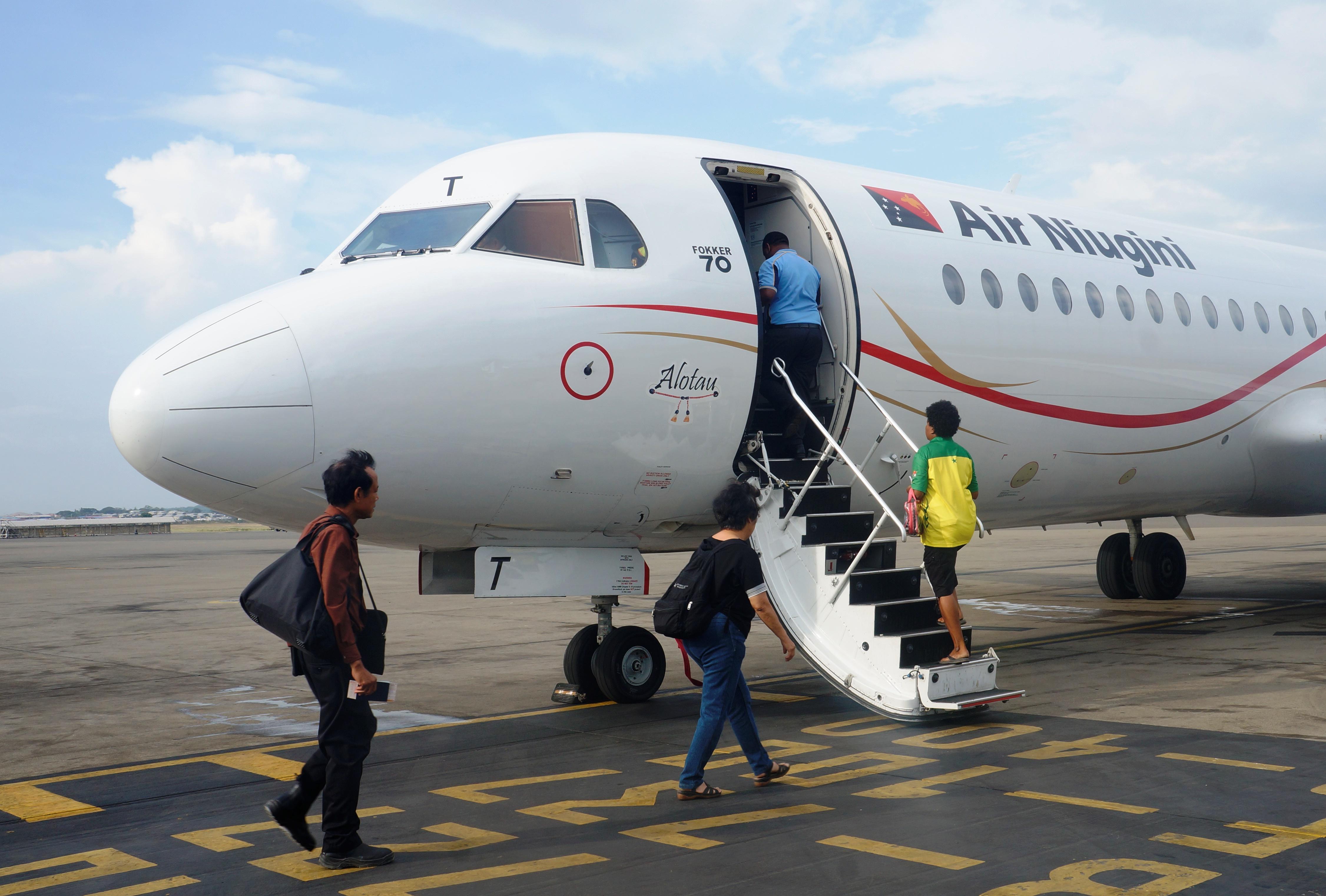 Air Niugini Increases Domestic Services