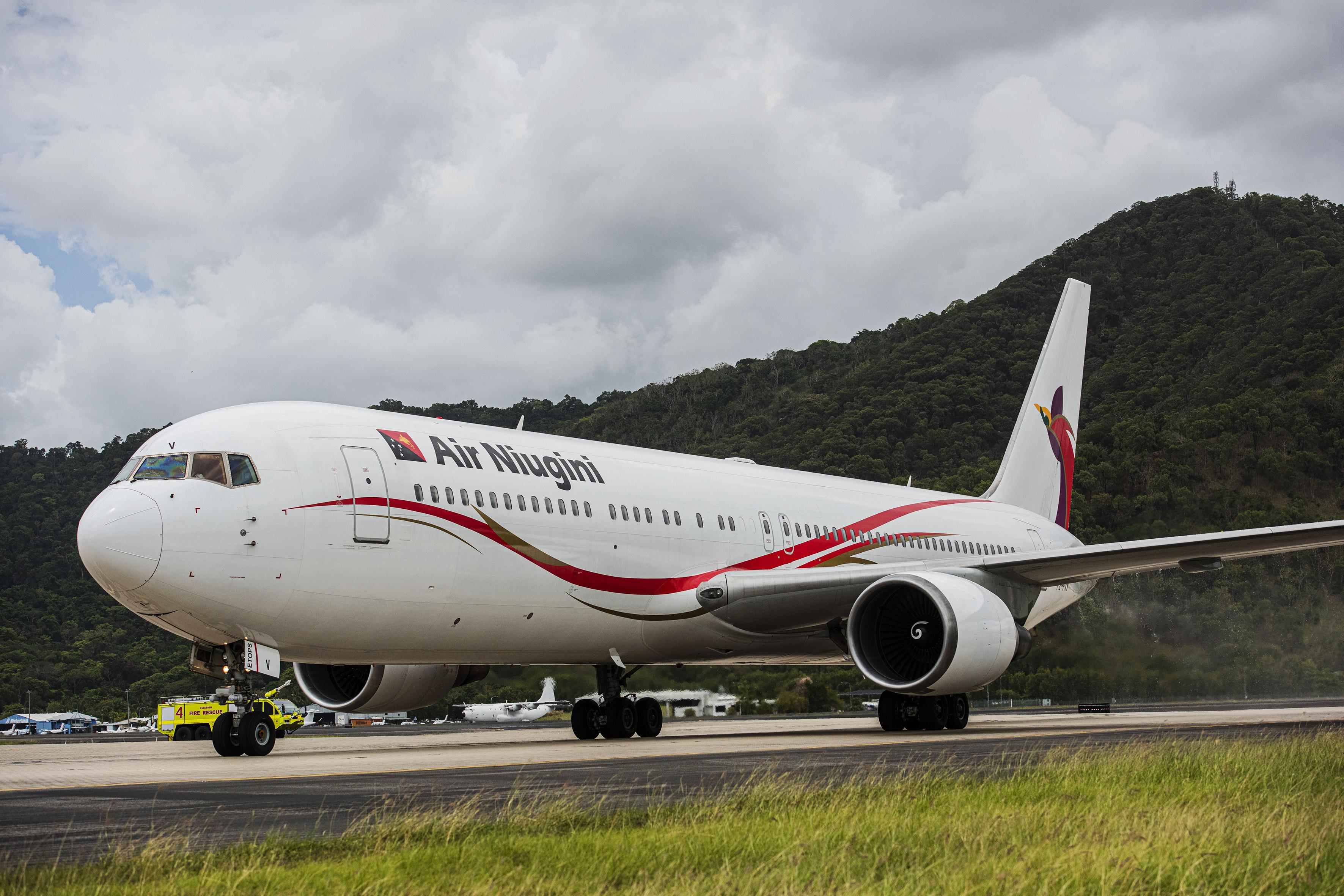 Air Niugini's Inaugural Cairns/Pom/Hong Kong Flight