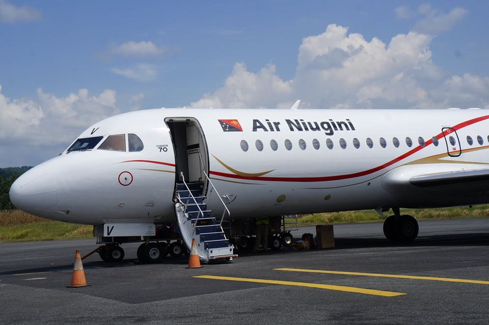 Air Niugini Resumes Fokker Services To Mt Hagen For Peak Period Only