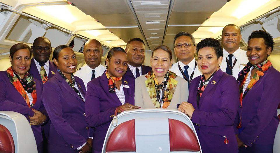 Air Niugini Warns Of False Advertisement For Cabin Crew Training