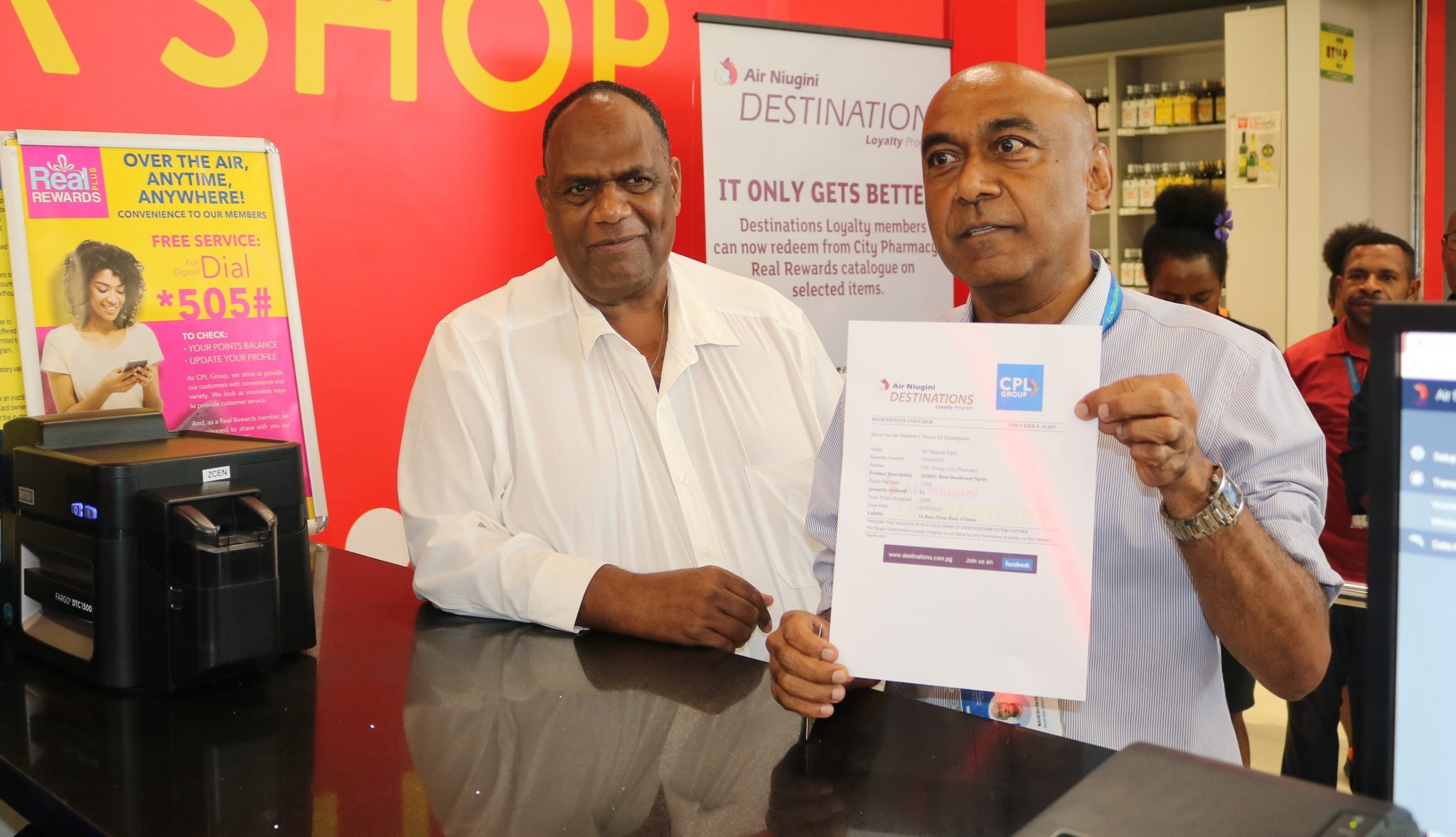 Air Niugini And City Pharmacy Partner In Redemption Program