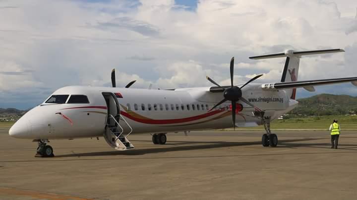 Q402 Aircraft Now Operates Tokua Flights Due To Runway Upgrade