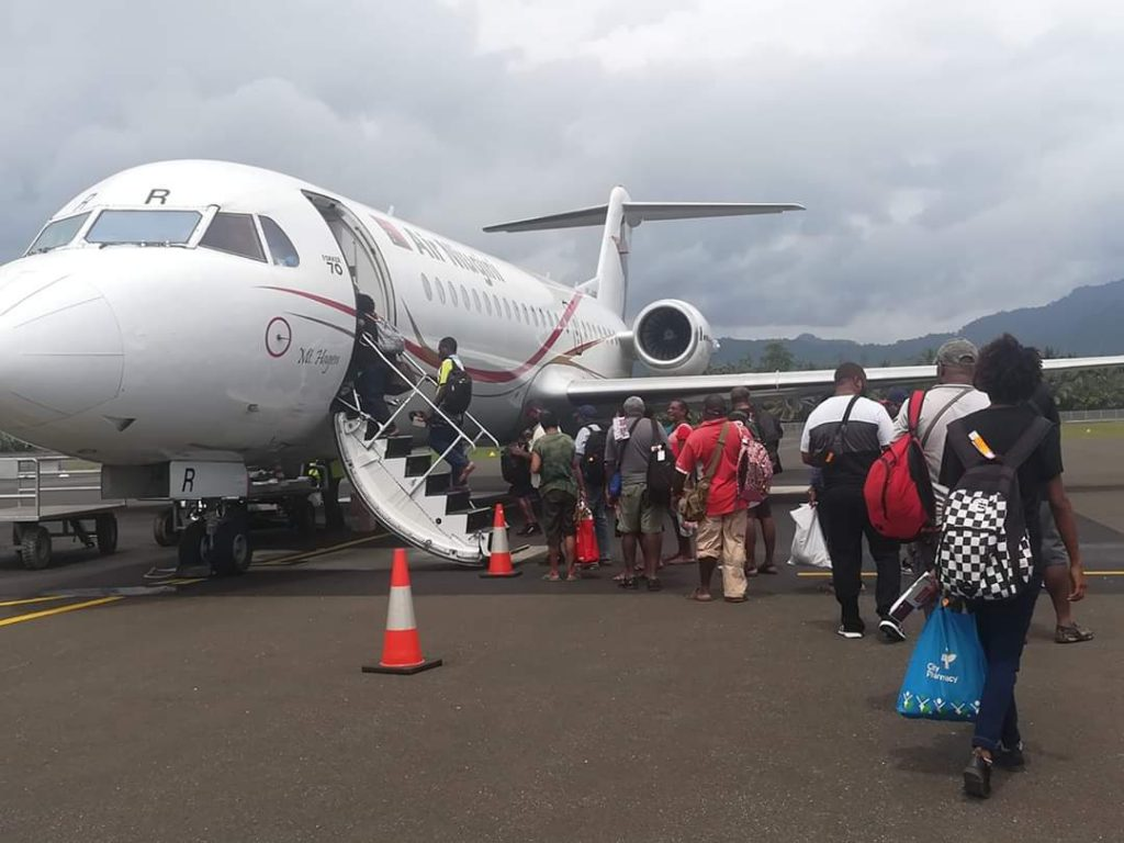 Air Niugini recommences Domestic Services